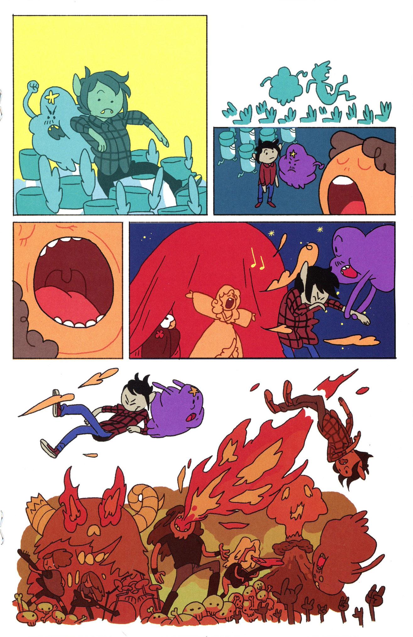 Read online Adventure Time Comics comic -  Issue #8 - 17