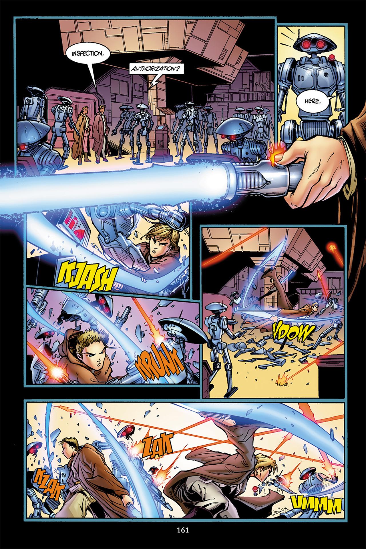 Read online Star Wars Omnibus comic -  Issue # Vol. 10 - 160