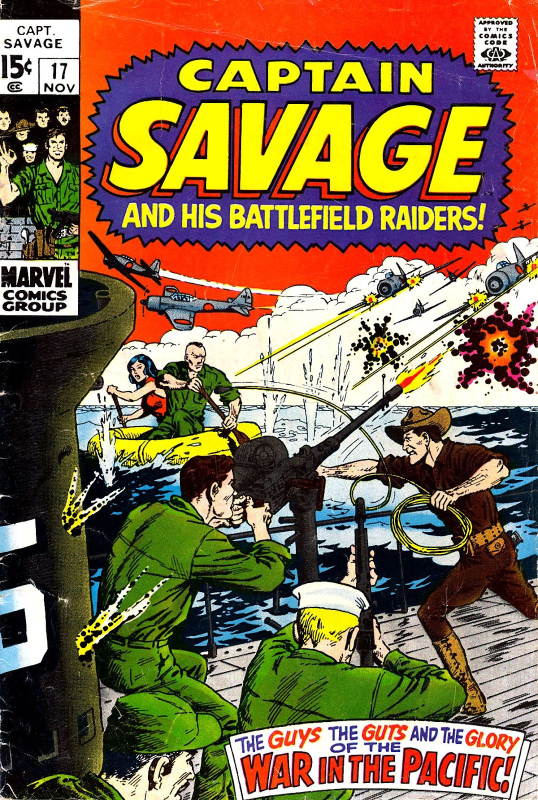 Captain Savage and his Leatherneck Raiders issue 17 - Page 1