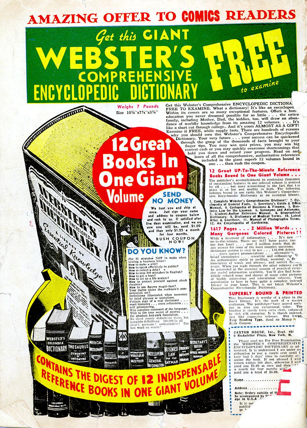 Read online Detective Comics (1937) comic -  Issue #68 - 68