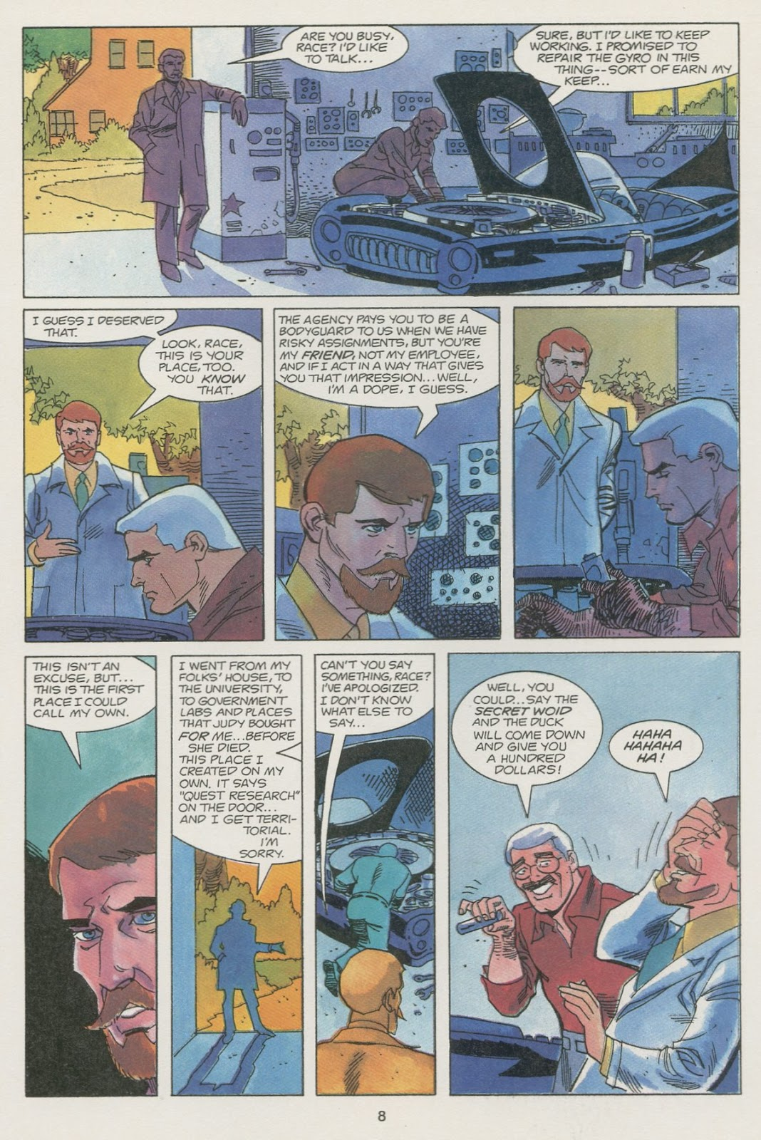 Jonny Quest (1986) issue 19 - Page 10