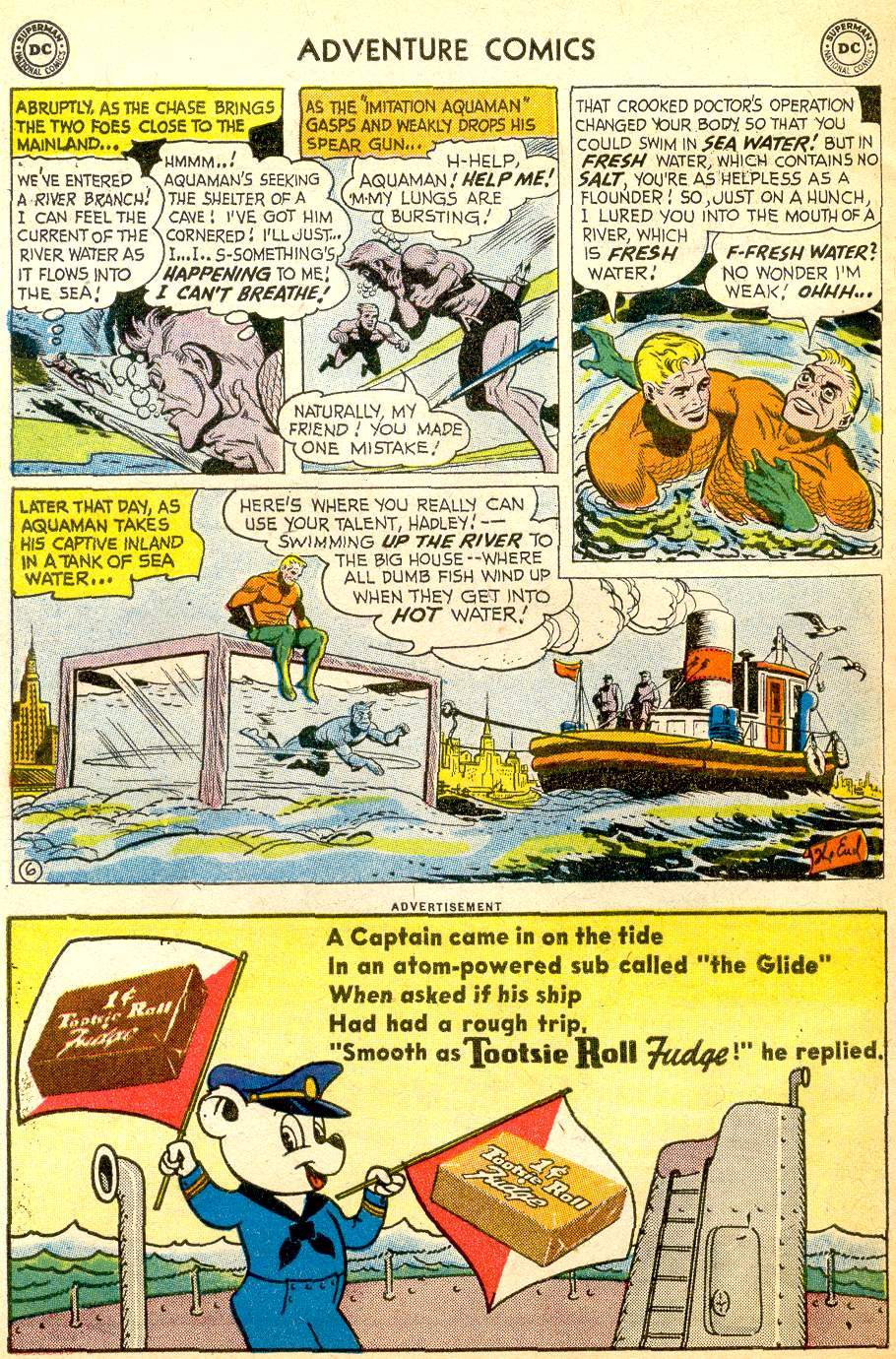 Read online Adventure Comics (1938) comic -  Issue #257 - 32