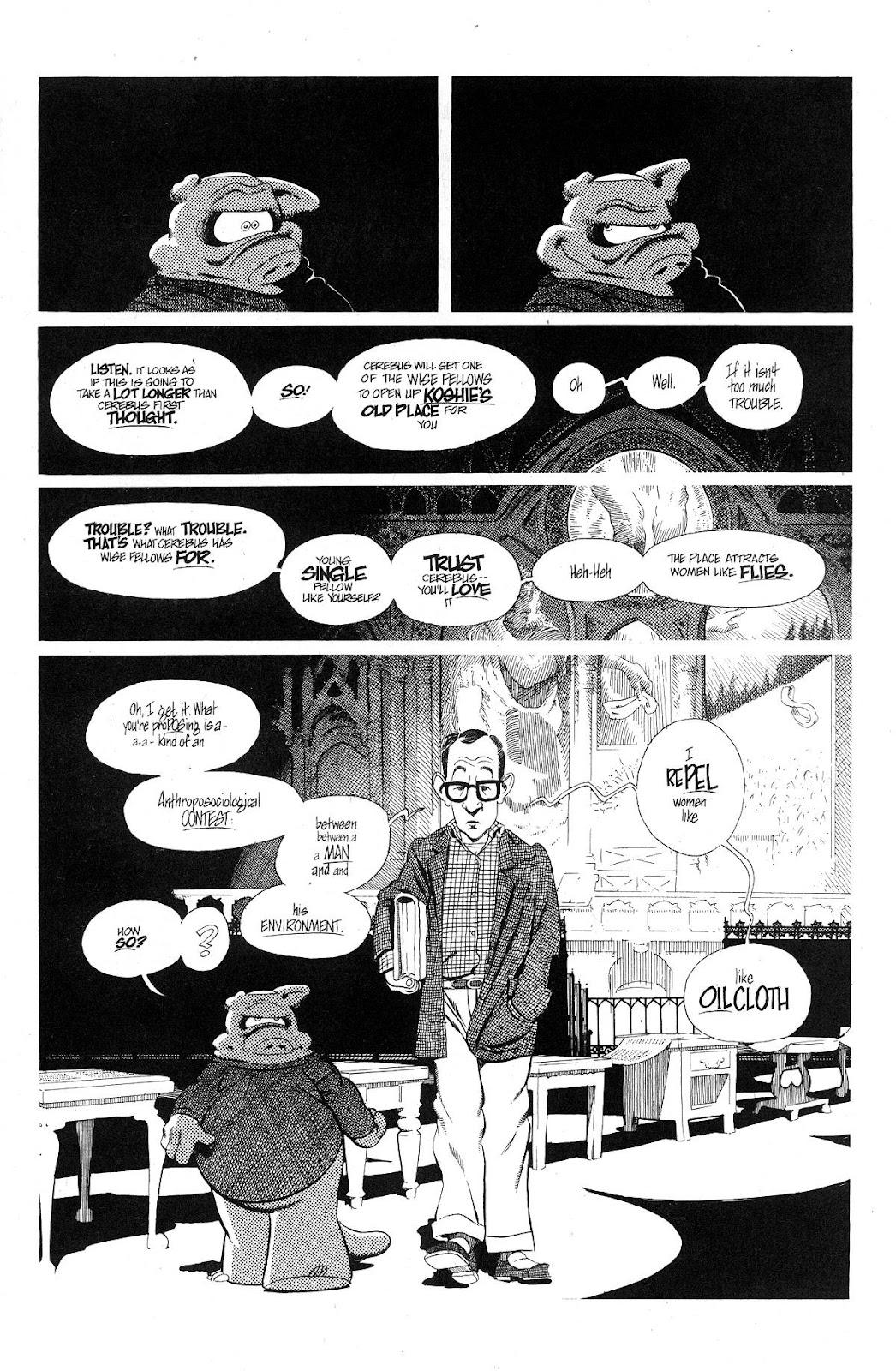 Cerebus Issue #280 #279 - English 9