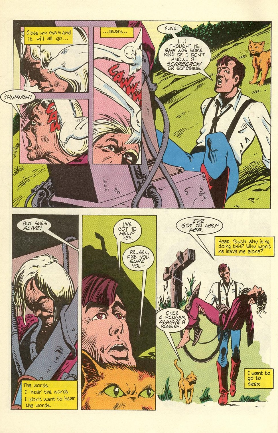 Read online American Flagg! comic -  Issue #40 - 6