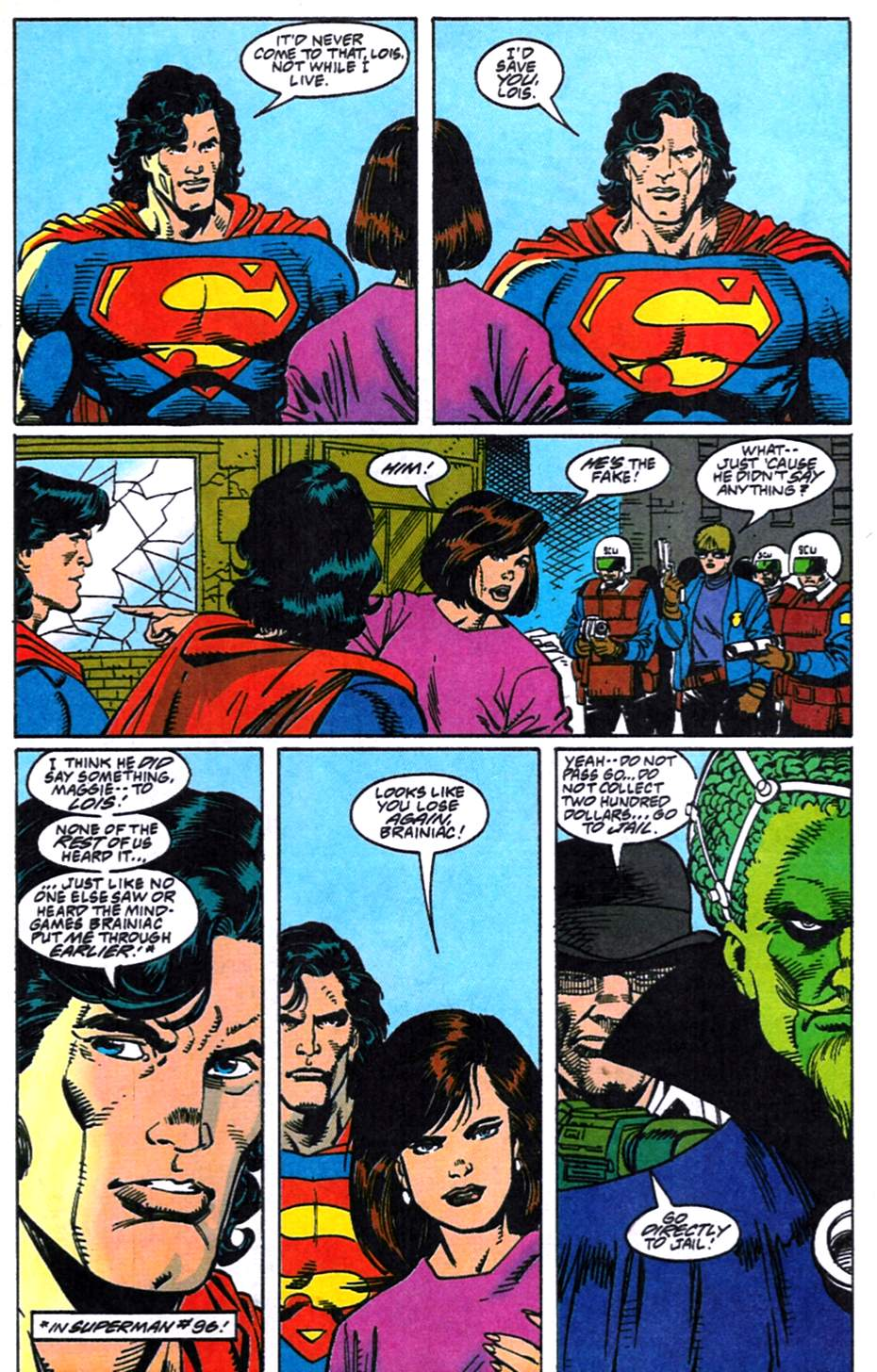 Read online Adventures of Superman (1987) comic -  Issue #519 - 11