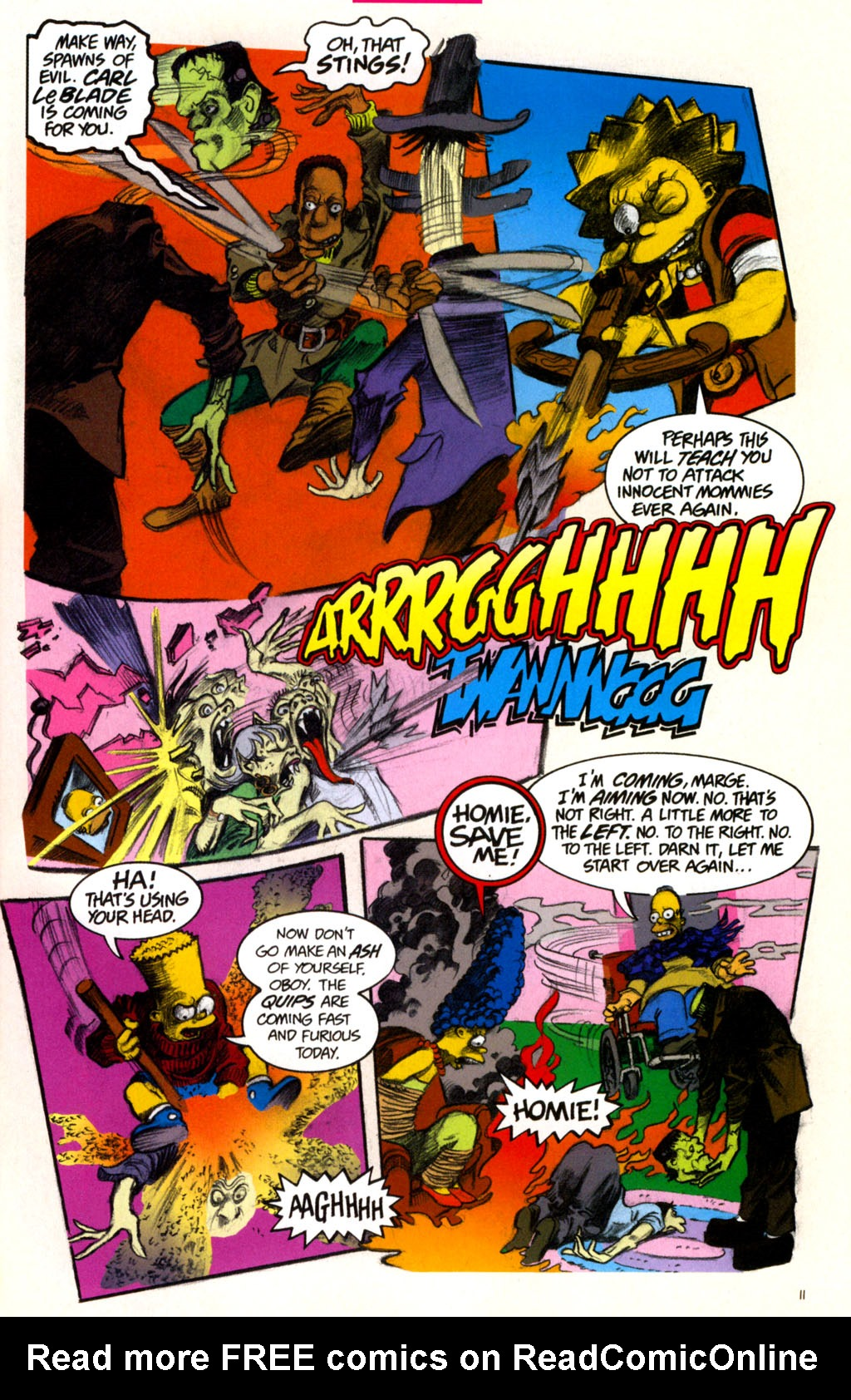 Read online Treehouse of Horror comic -  Issue #11 - 14