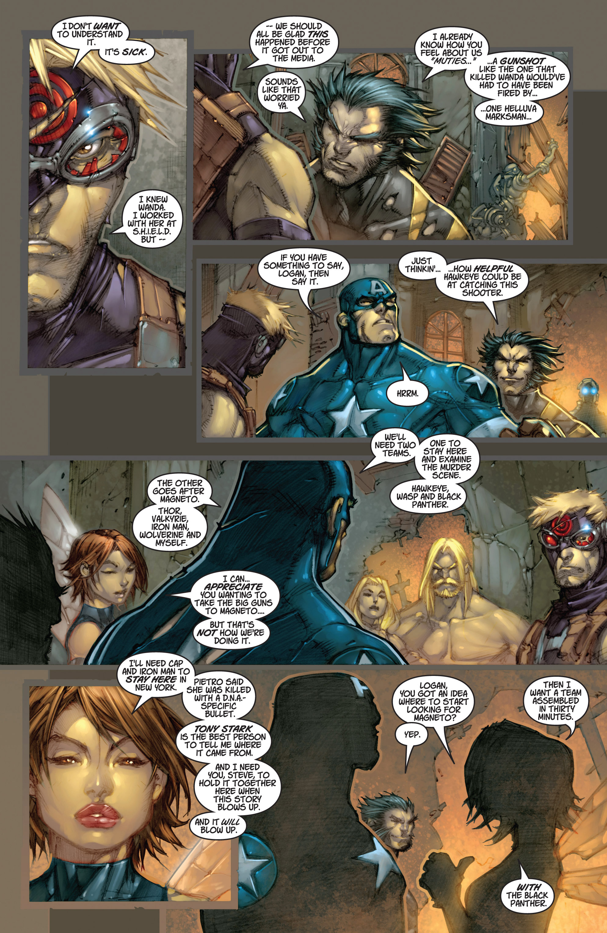 Read online Ultimates 3 comic -  Issue #3 - 15