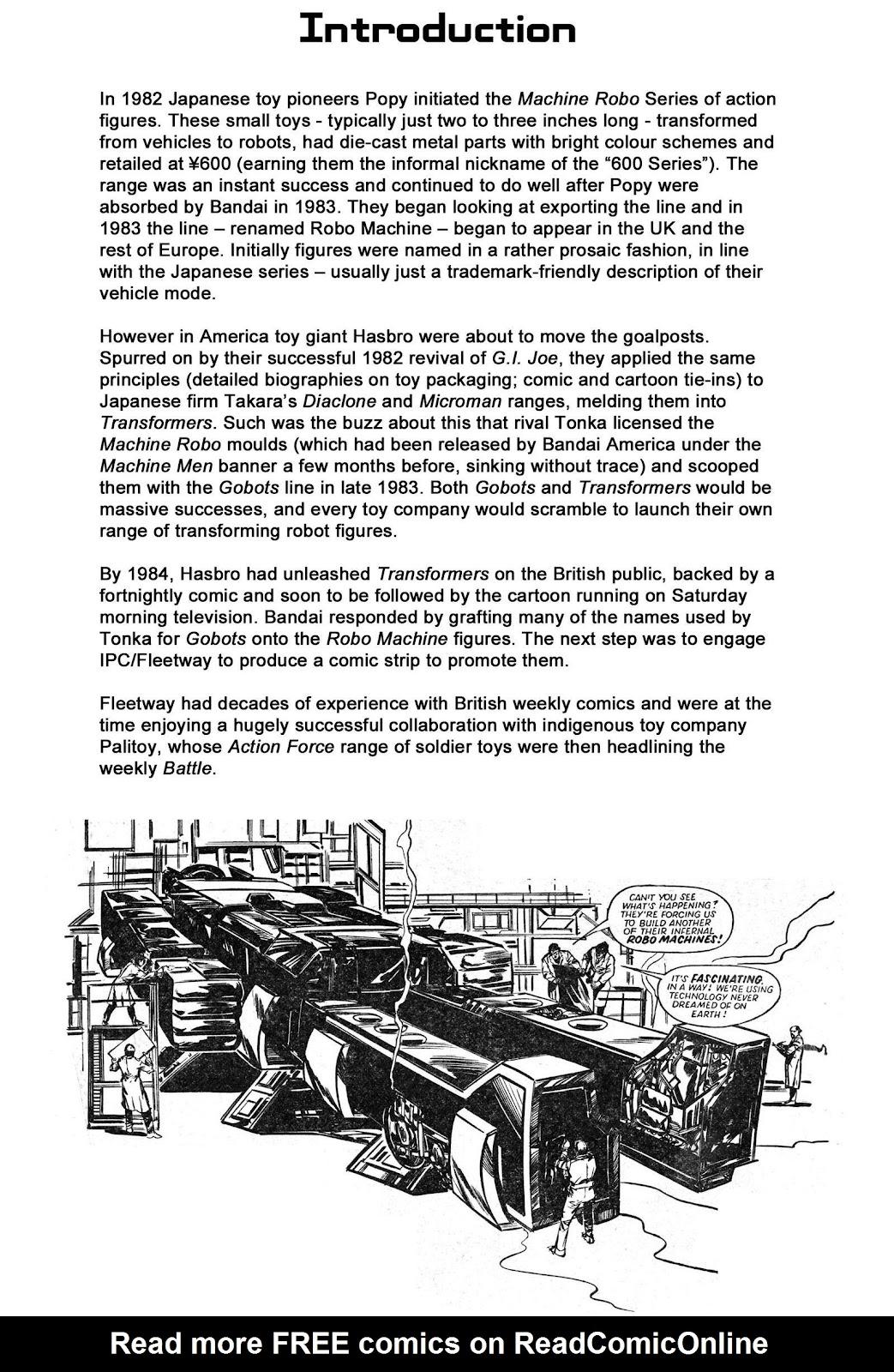 Read online Robo Machines comic -  Issue # TPB - 3