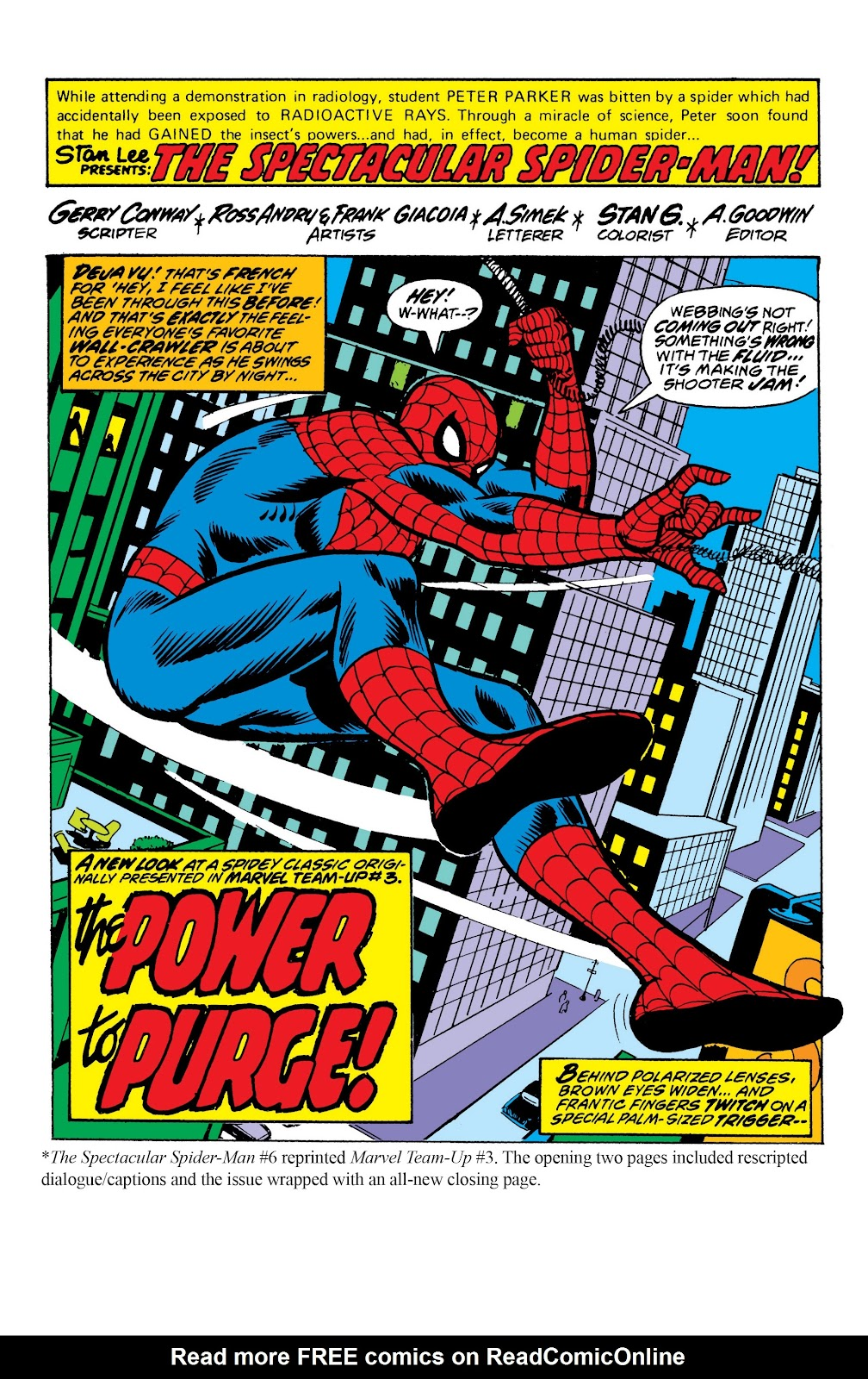 Read online Marvel Masterworks: The Spectacular Spider-Man comic -  Issue # TPB (Part 1) - 99
