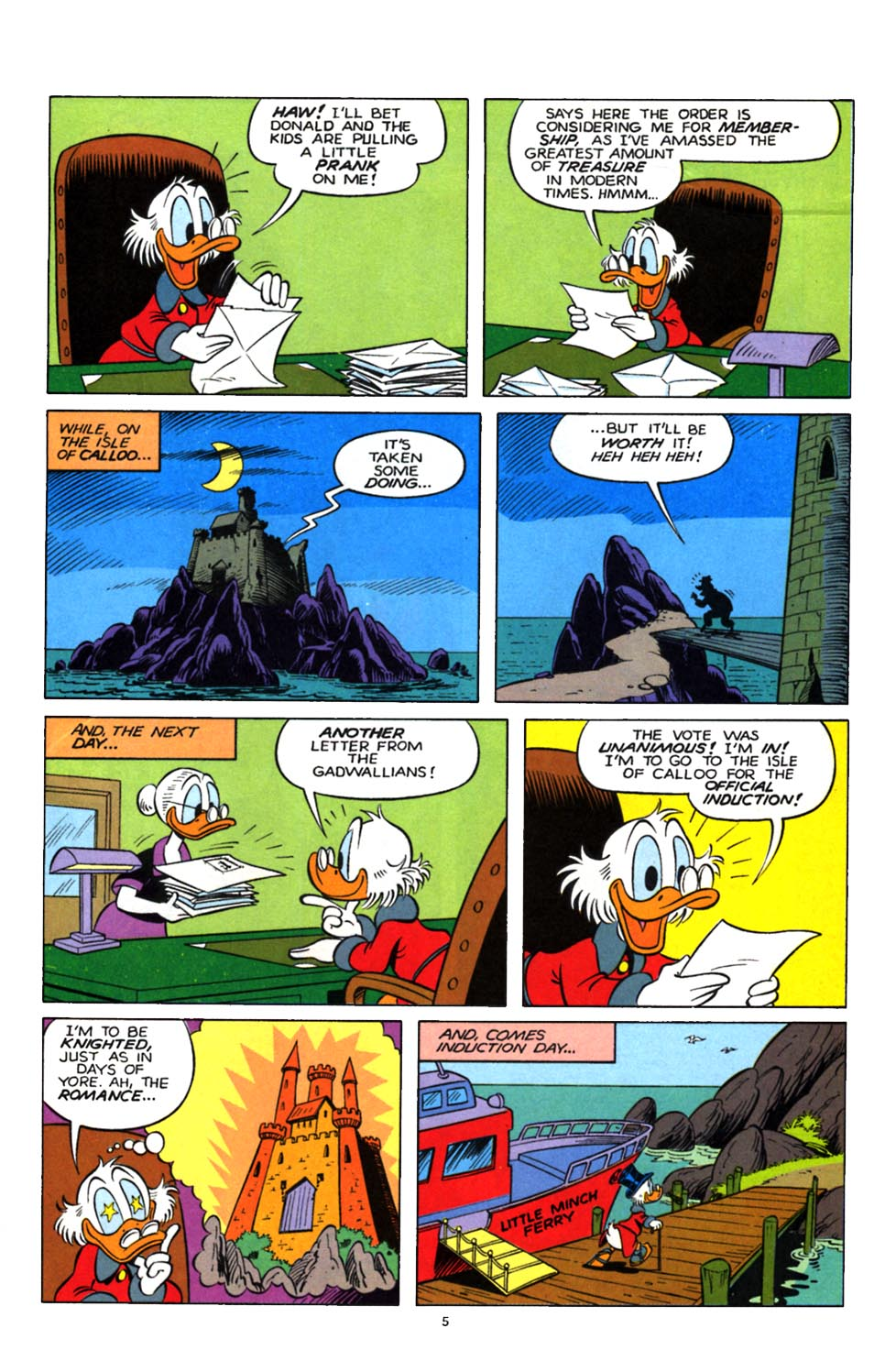 Read online Uncle Scrooge (1953) comic -  Issue #247 - 21