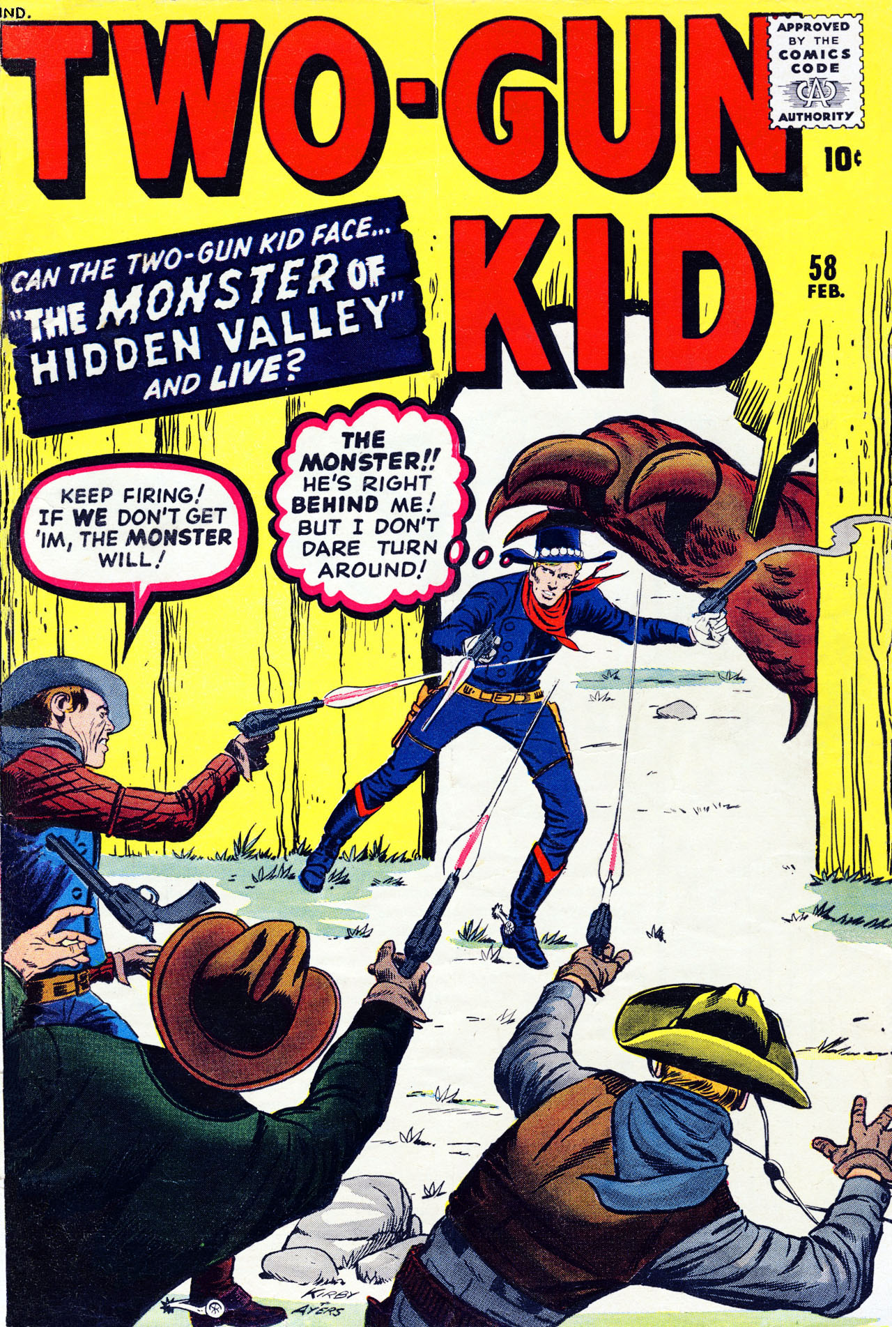 Read online Two-Gun Kid comic -  Issue #58 - 1
