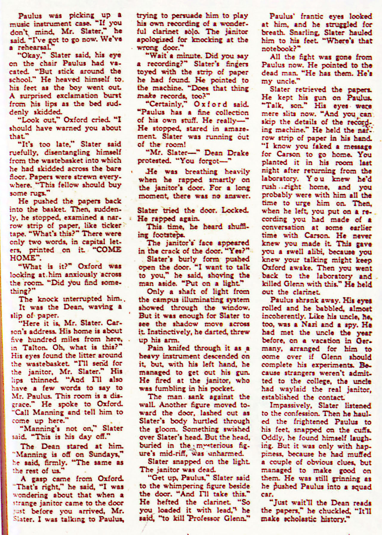 Read online Detective Comics (1937) comic -  Issue #71 - 49