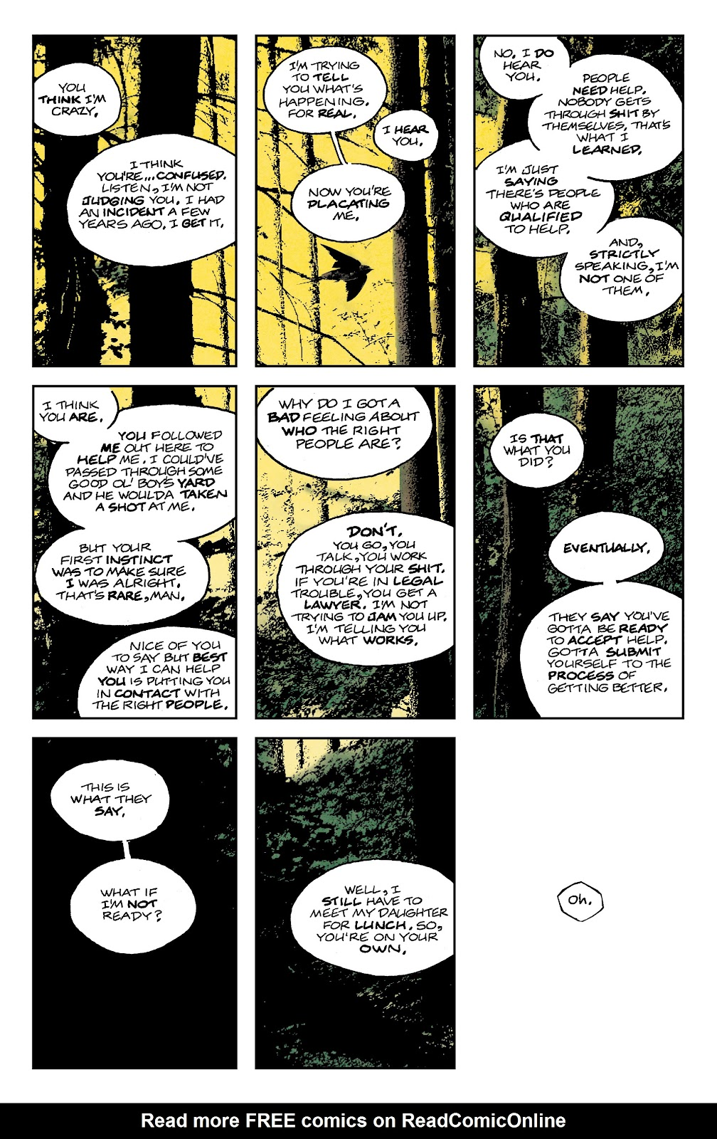 Read online Nobody Is In Control comic -  Issue #1 - 16