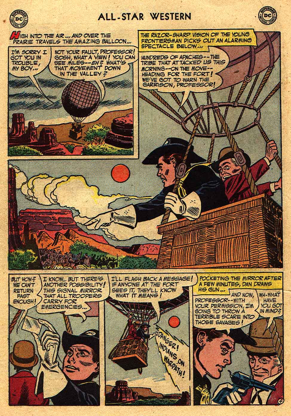 Read online All-Star Western (1951) comic -  Issue #70 - 22