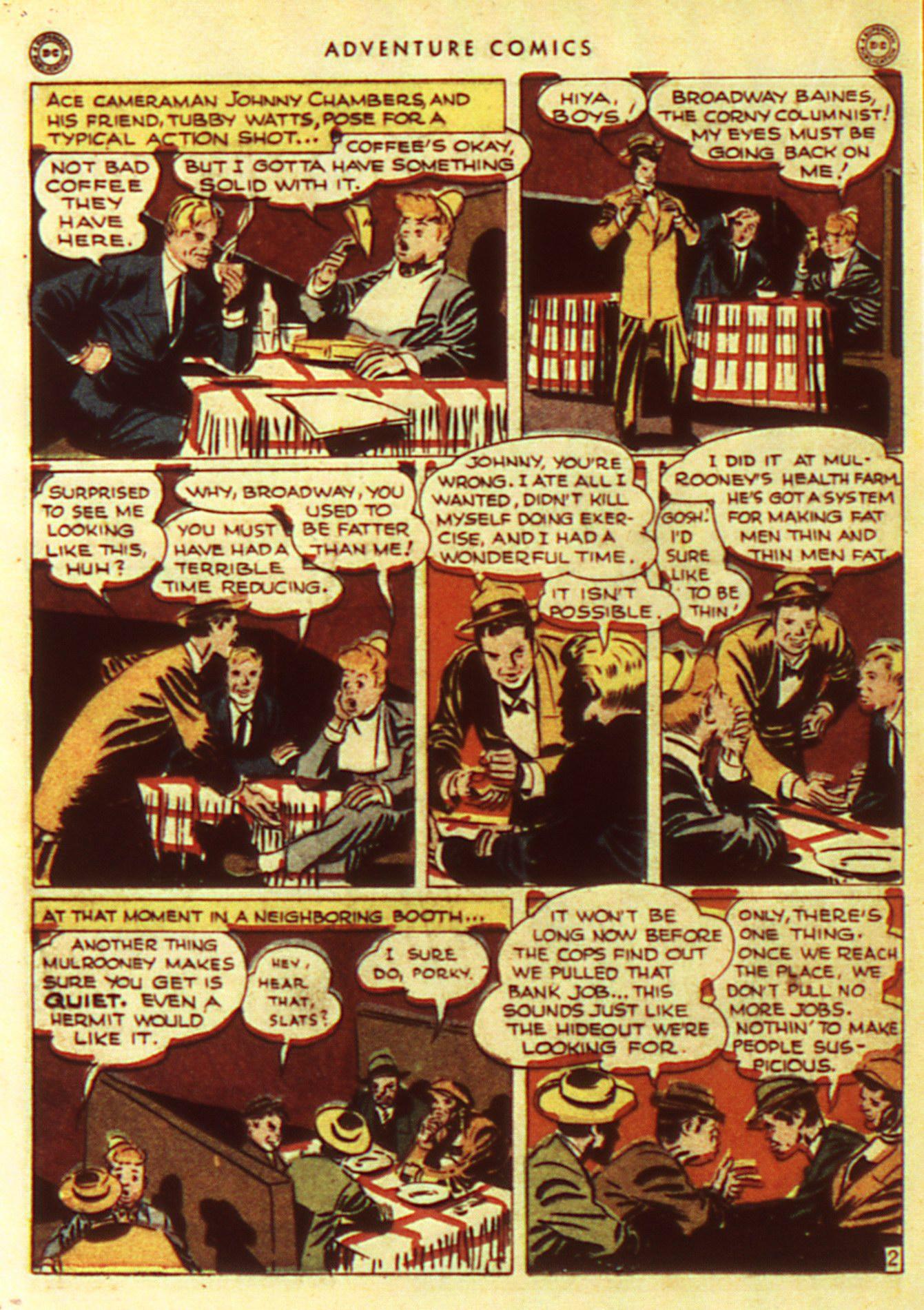 Read online Adventure Comics (1938) comic -  Issue #105 - 22