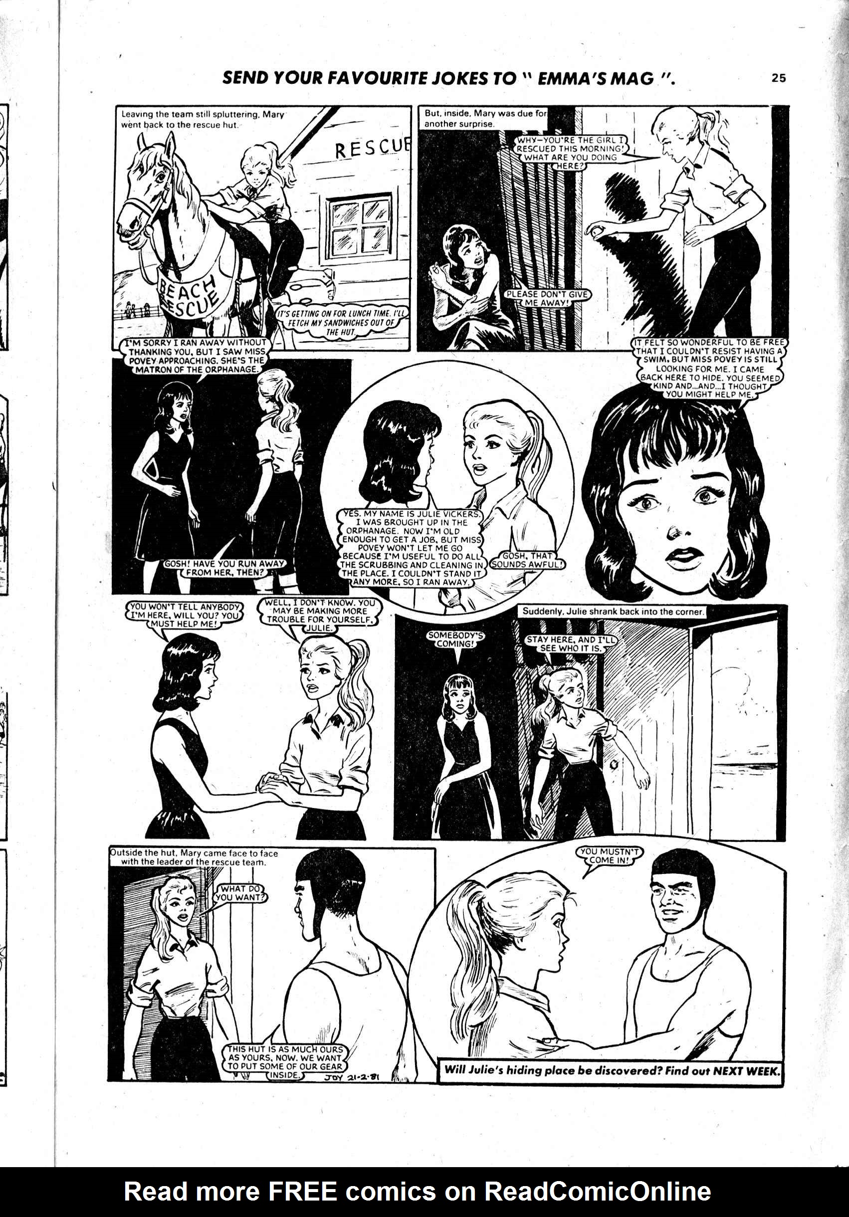 Read online Judy comic -  Issue #1102 - 25