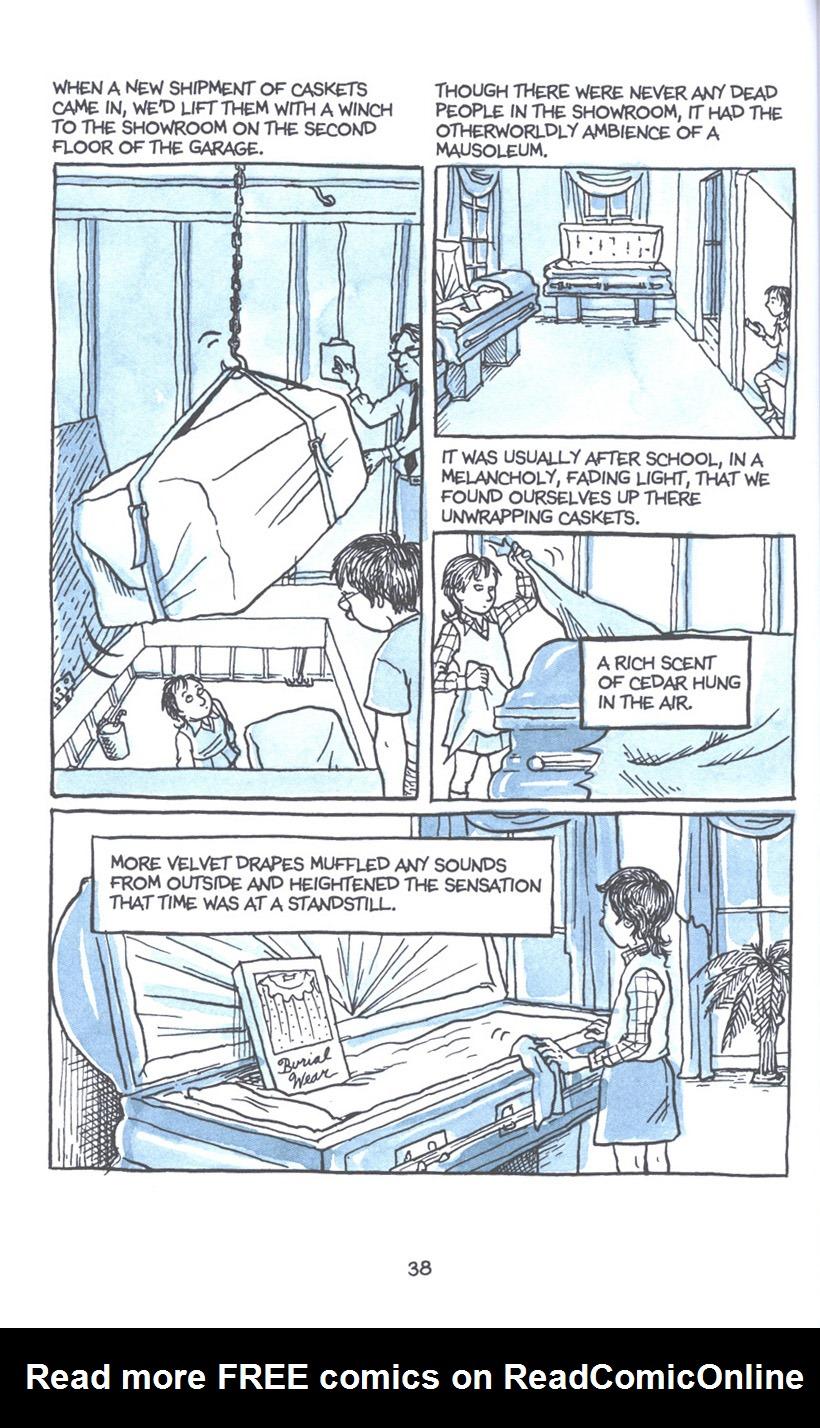 Read online Fun Home: A Family Tragicomic comic -  Issue # TPB - 45