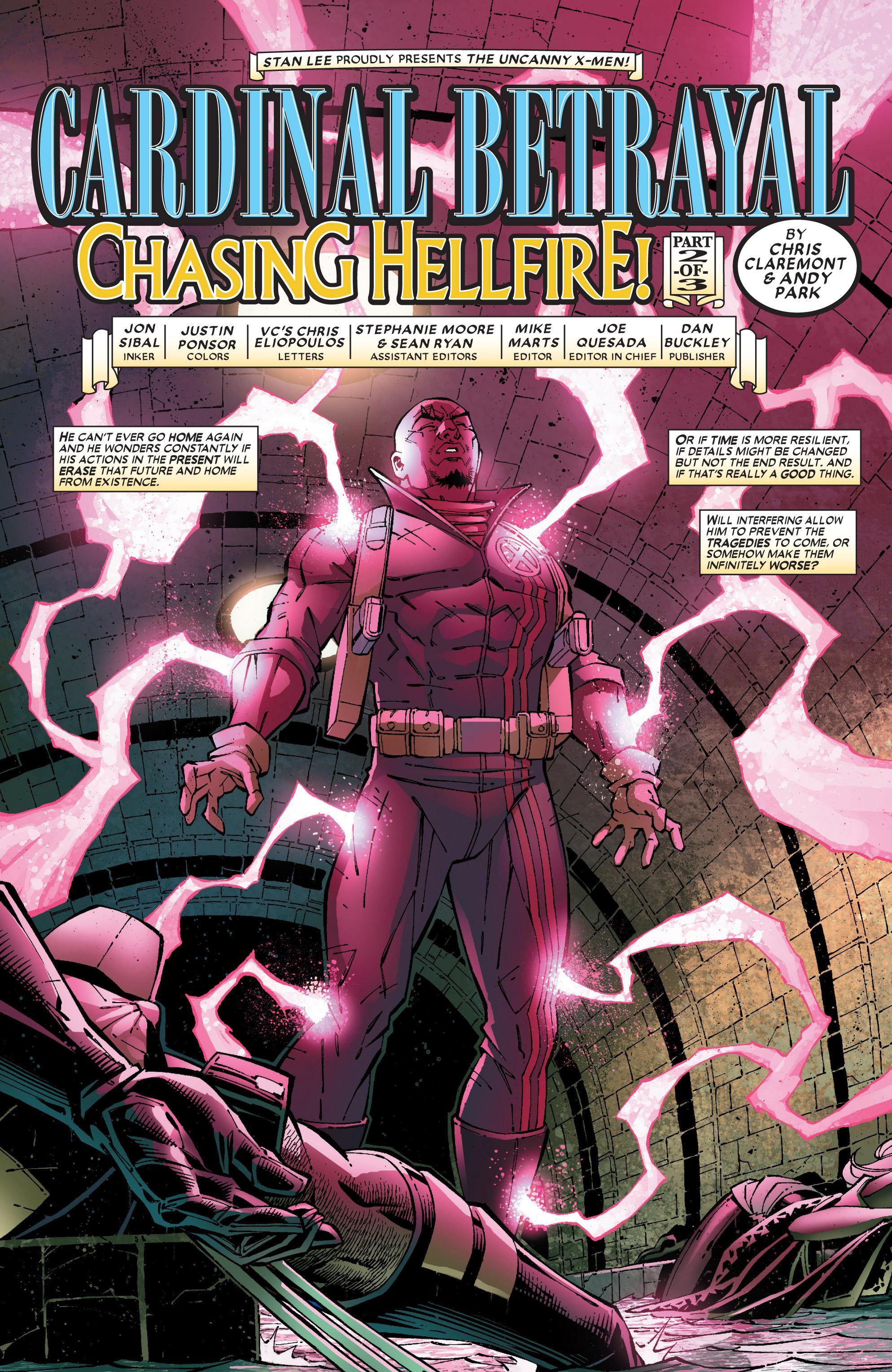 Read online Uncanny X-Men (1963) comic -  Issue #453 - 4