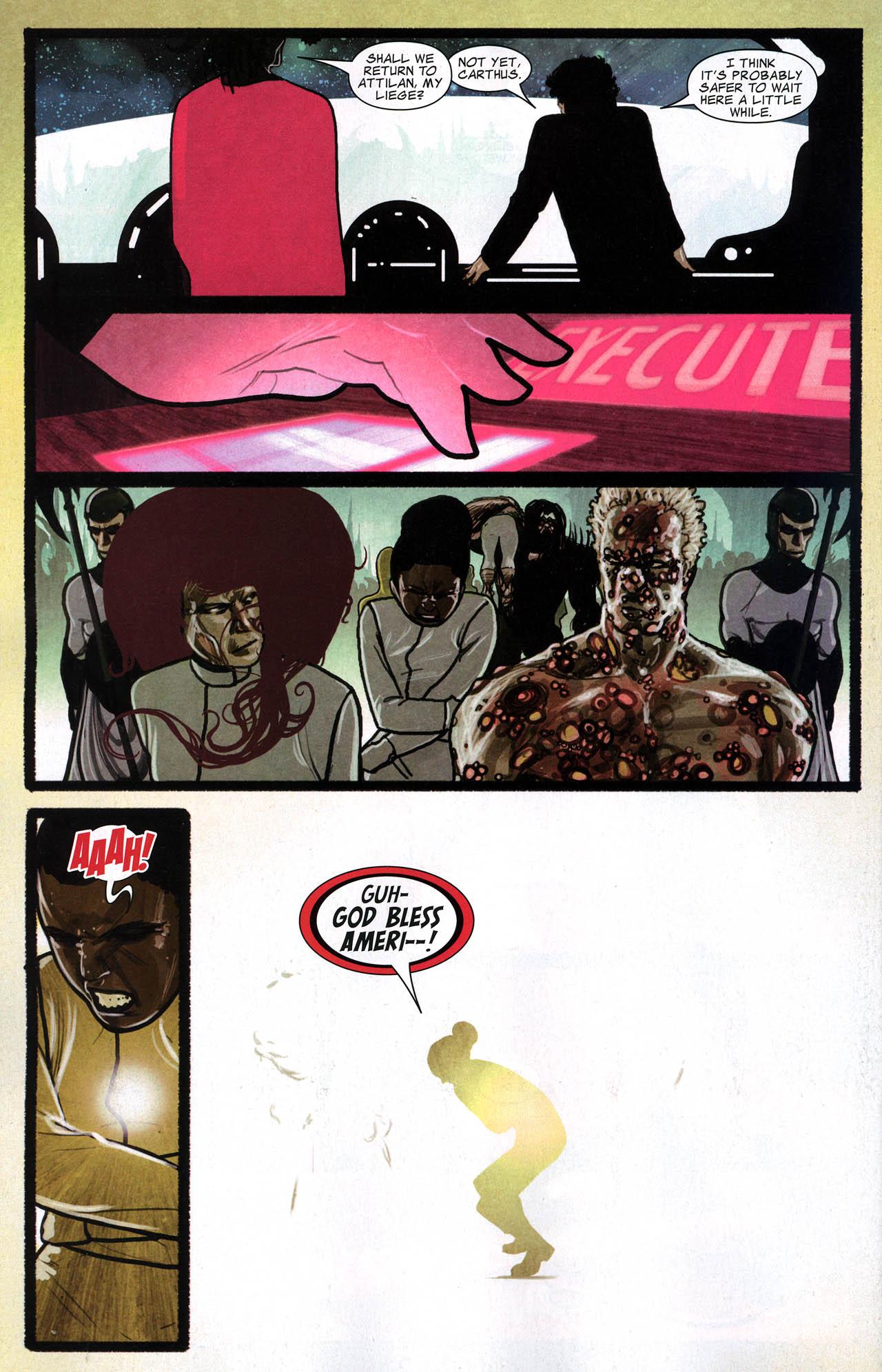 Read online Silent War comic -  Issue #6 - 17