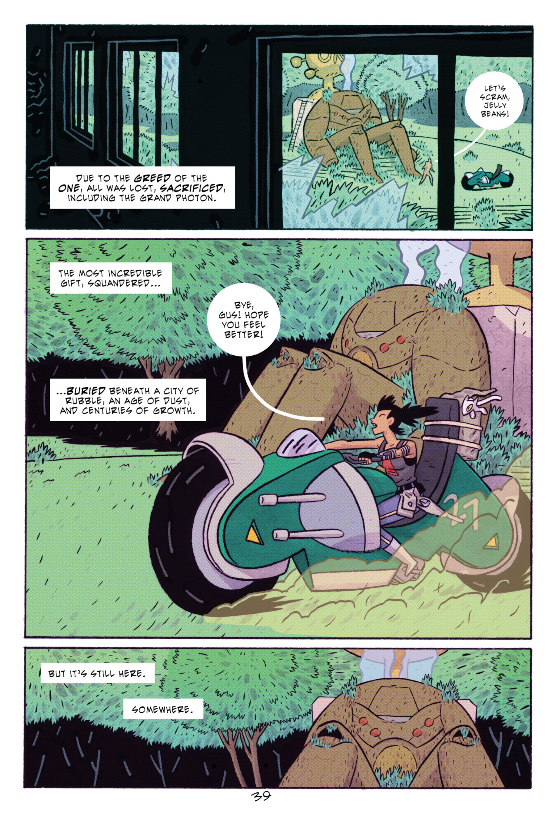 Read online ApocalyptiGirl: An Aria for the End Times comic -  Issue #ApocalyptiGirl: An Aria for the End Times Full - 47