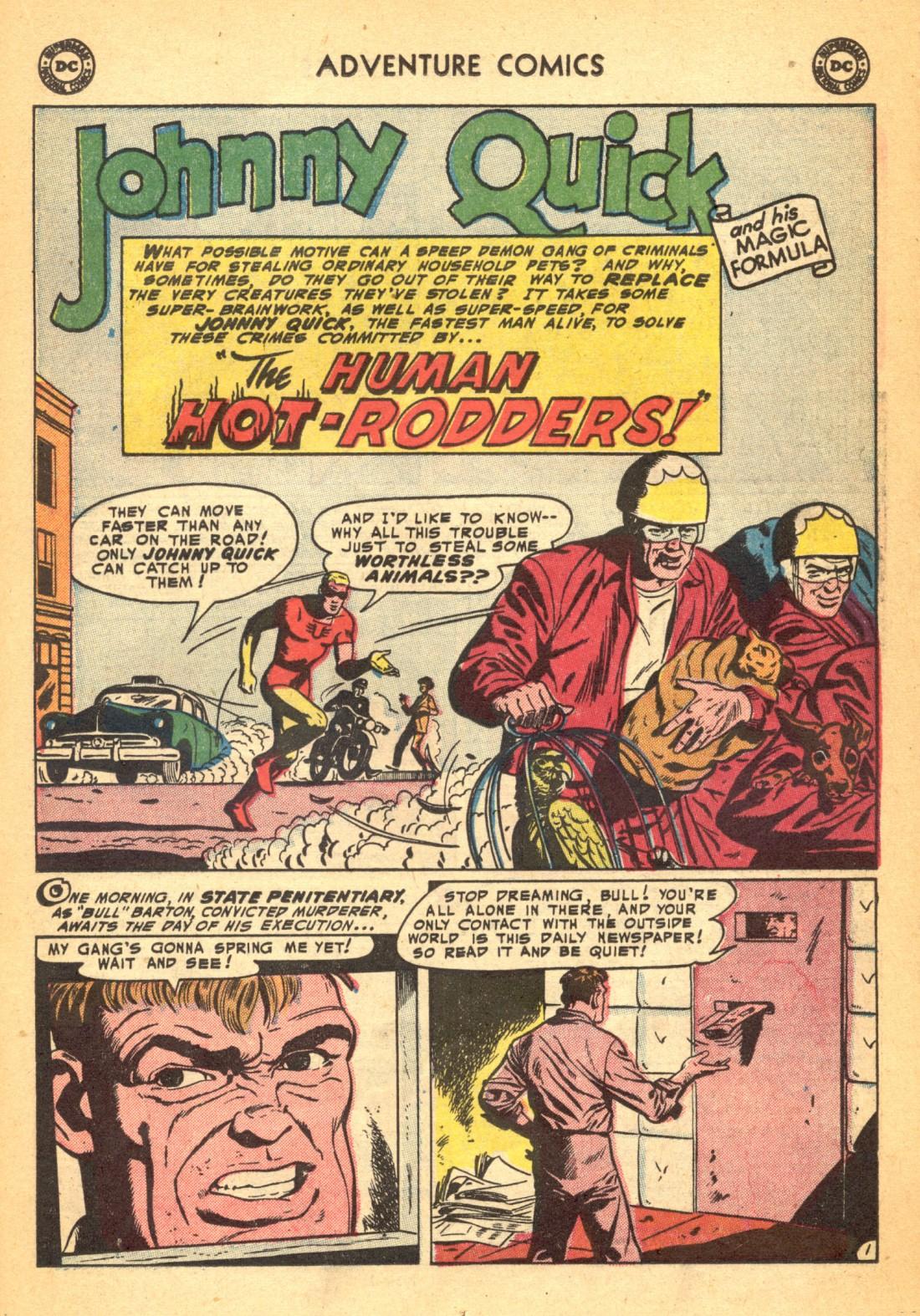 Read online Adventure Comics (1938) comic -  Issue #202 - 17