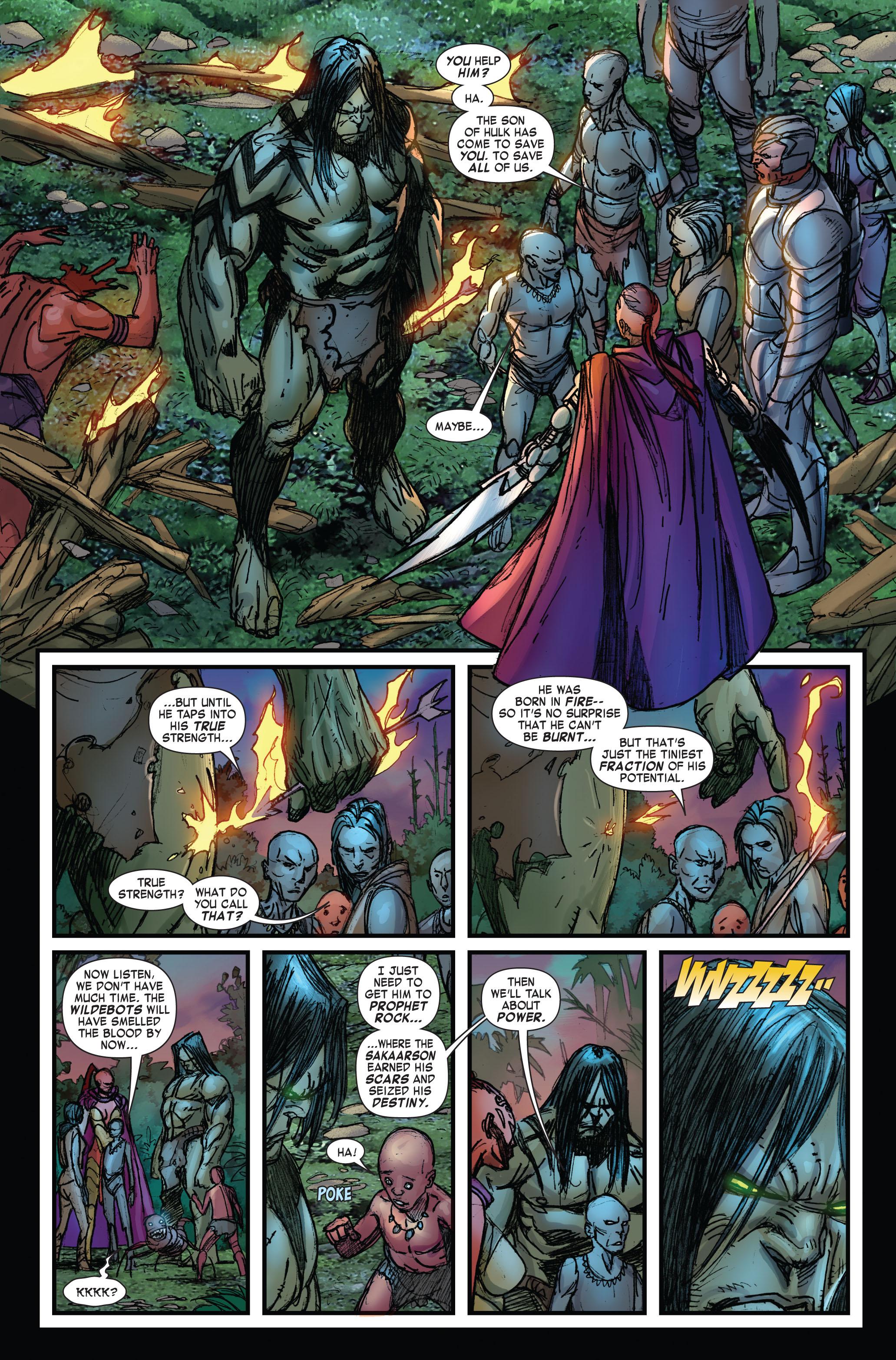 Read online Skaar: Son of Hulk comic -  Issue #3 - 5