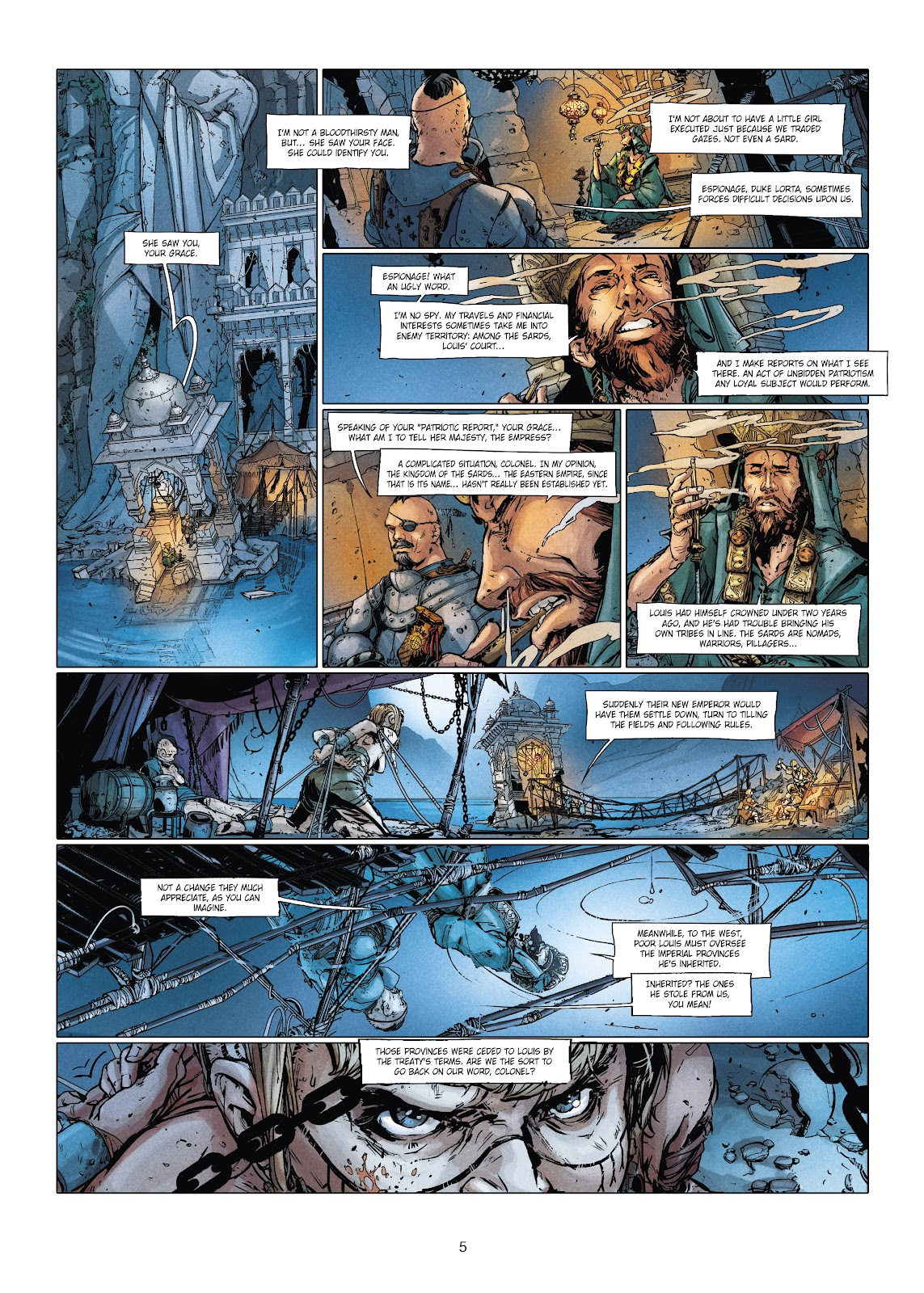 Read online Chronicles of the Dragon Knights comic -  Issue #20 - 5