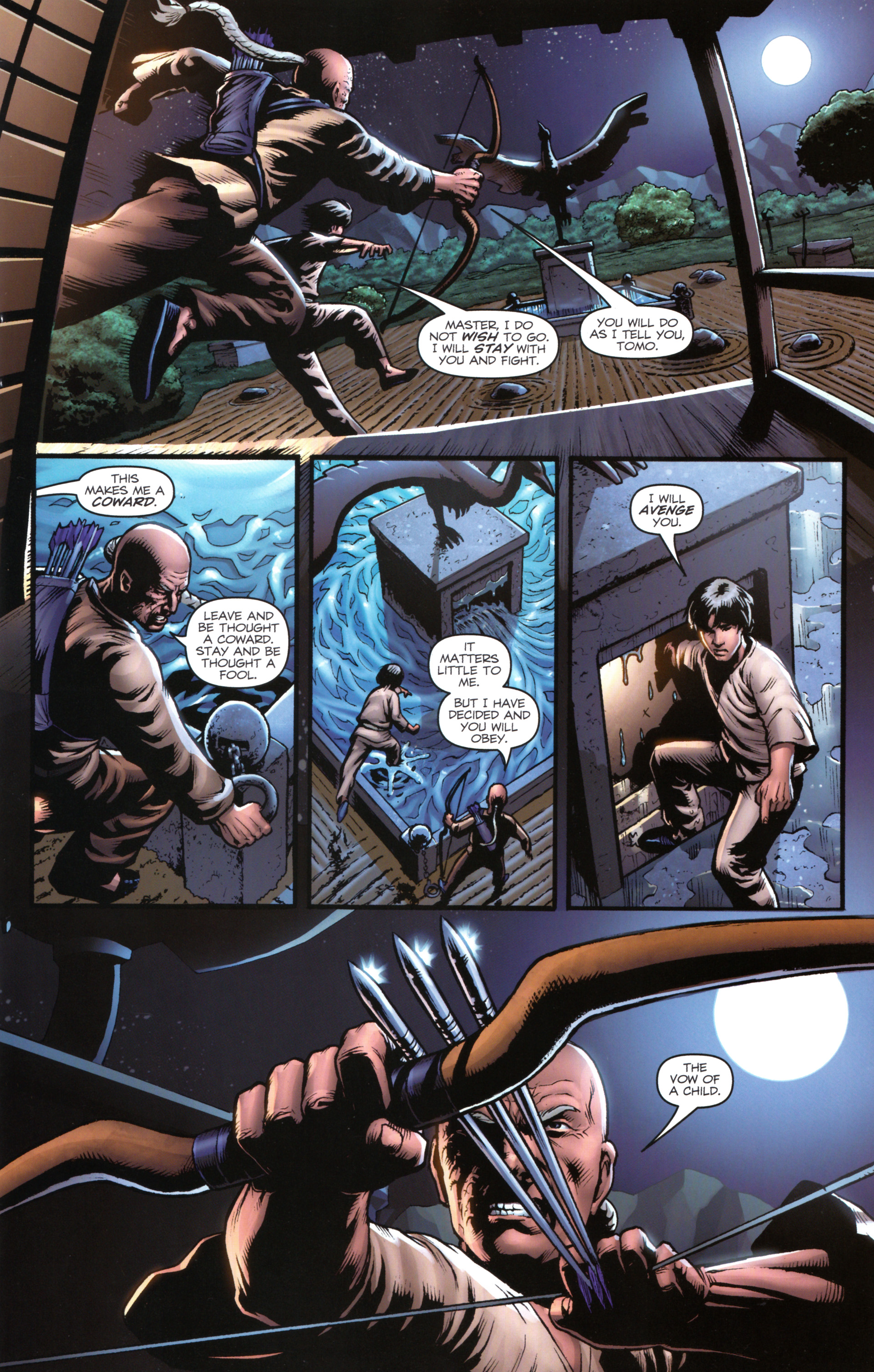 Read online Snake Eyes and Storm Shadow comic -  Issue #17 - 11