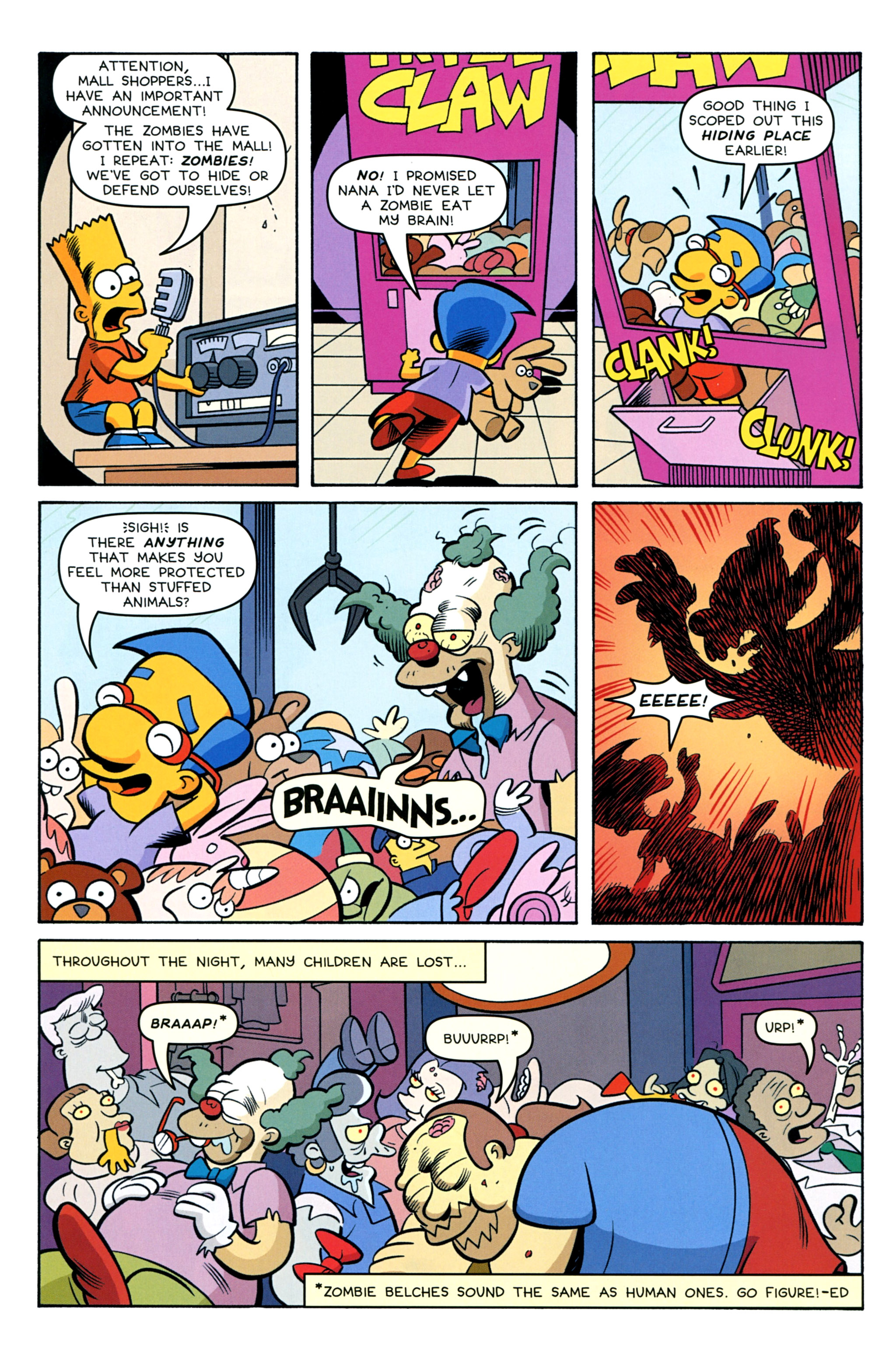 Read online Treehouse of Horror comic -  Issue #20 - 30