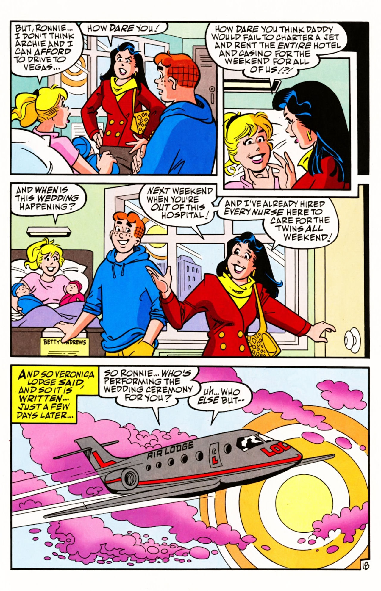 Read online Archie (1960) comic -  Issue #605 - 27