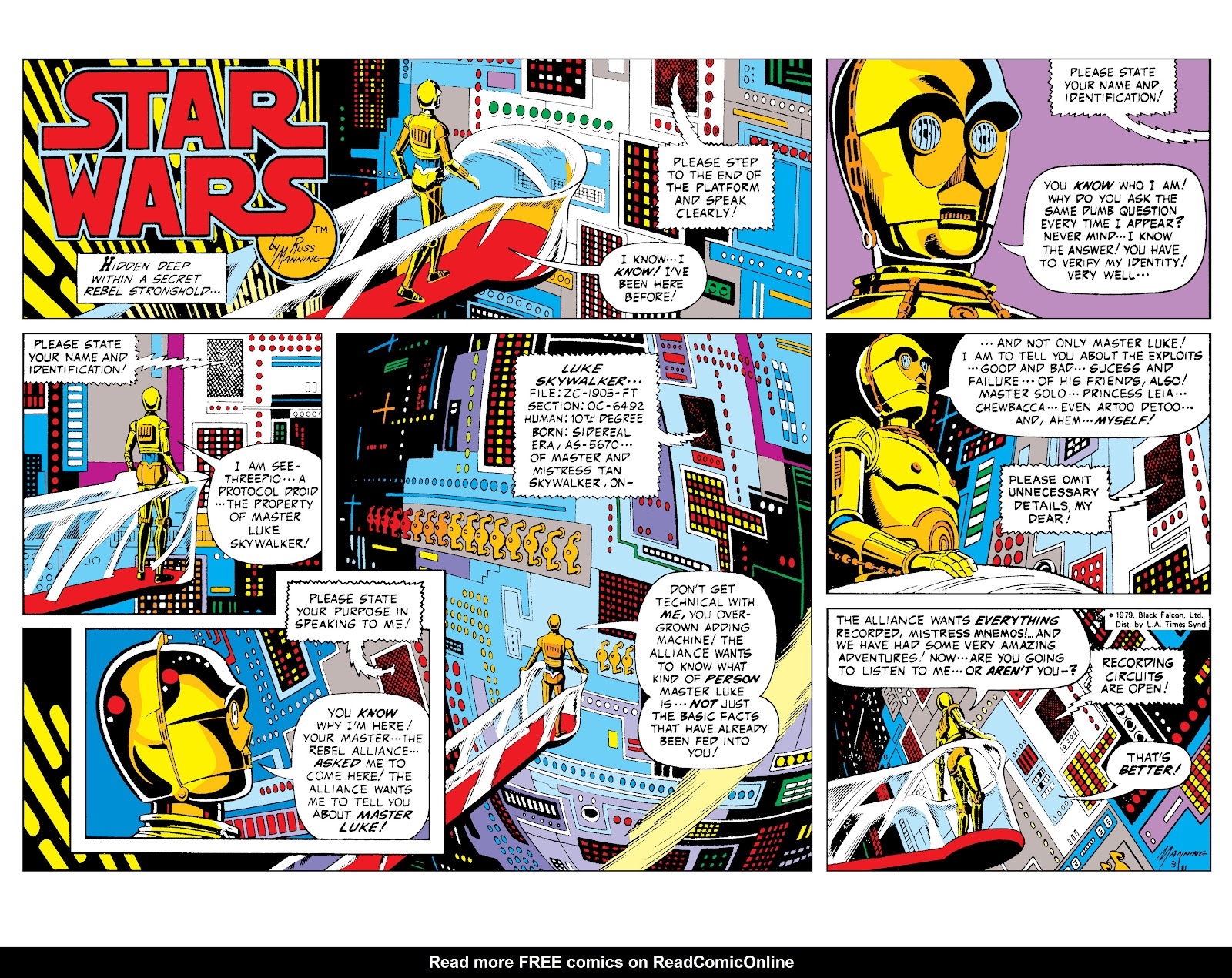 Read online Star Wars Legends: The Newspaper Strips - Epic Collection comic -  Issue # TPB (Part 1) - 8