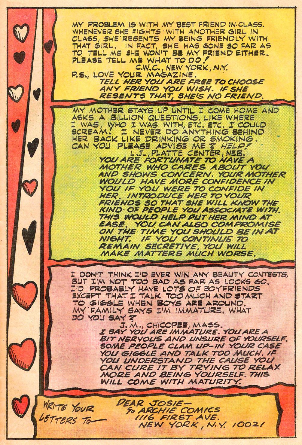 Read online She's Josie comic -  Issue #73 - 43
