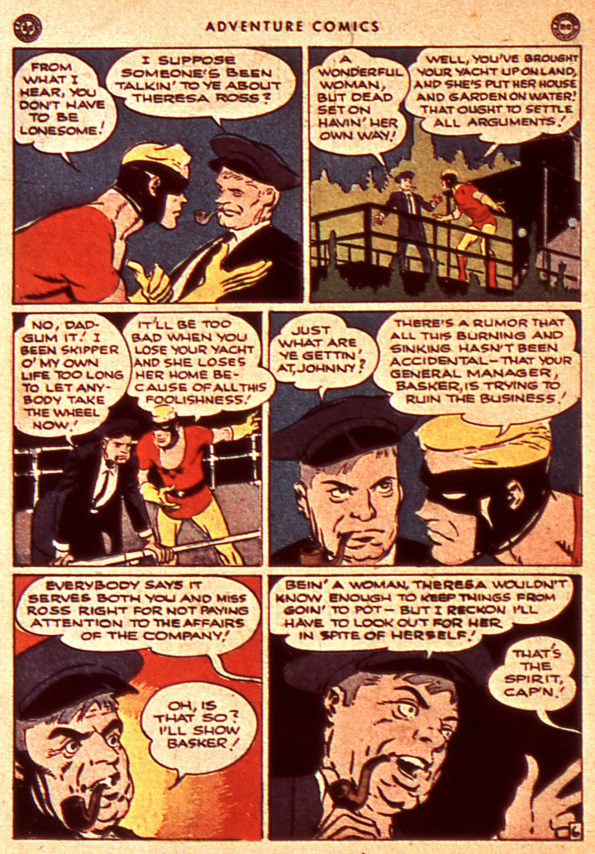 Read online Adventure Comics (1938) comic -  Issue #106 - 26