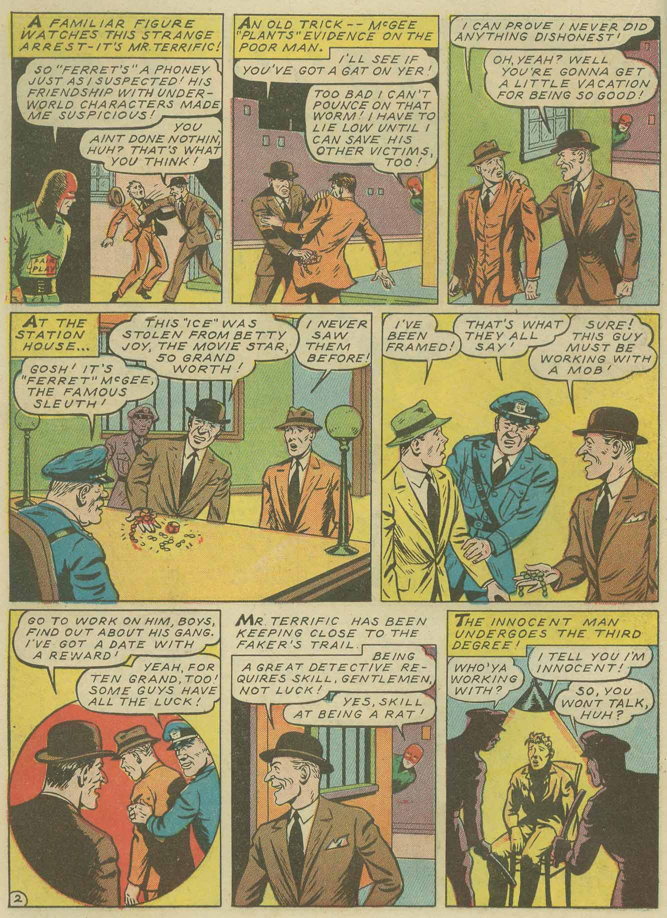 Read online Sensation (Mystery) Comics comic -  Issue #9 - 26