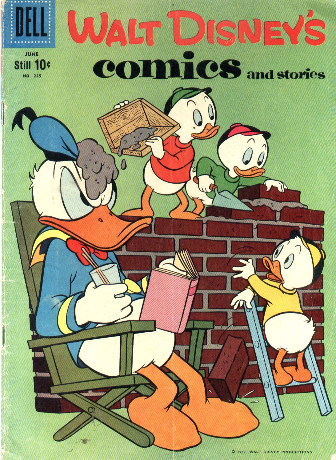 Walt Disney's Comics and Stories issue 225 - Page 1