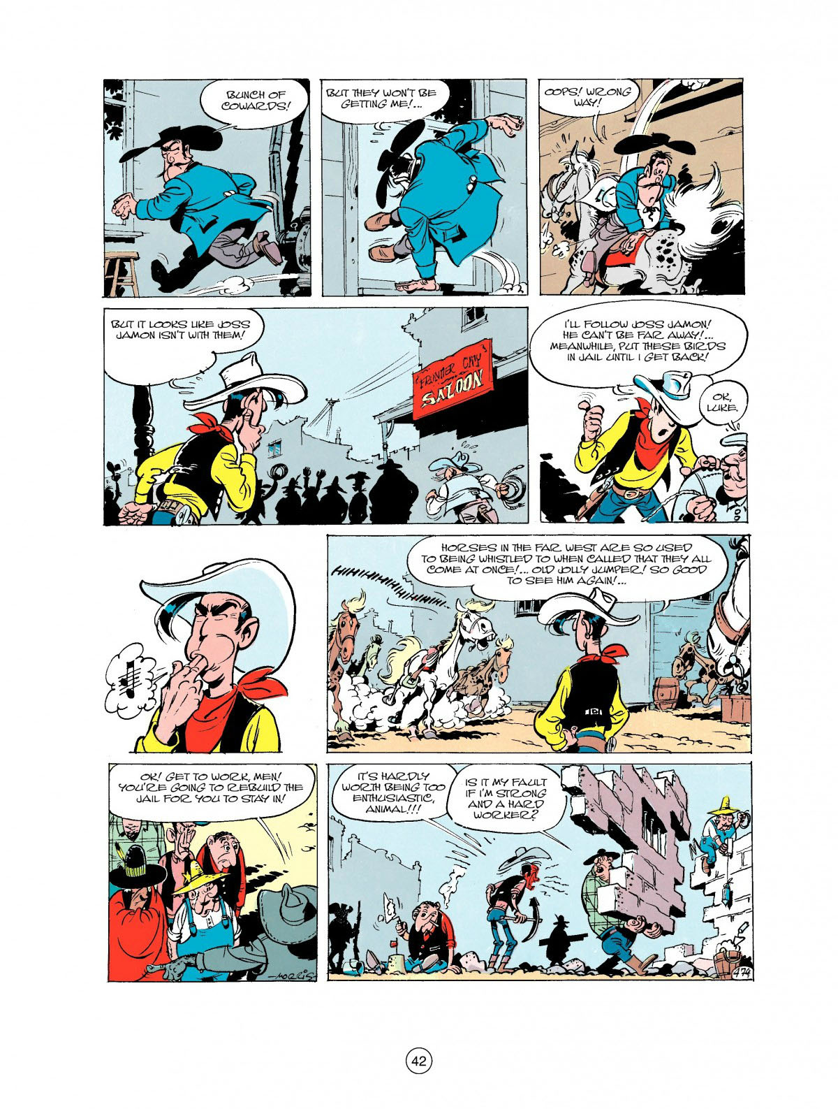 Read online A Lucky Luke Adventure comic -  Issue #27 - 43