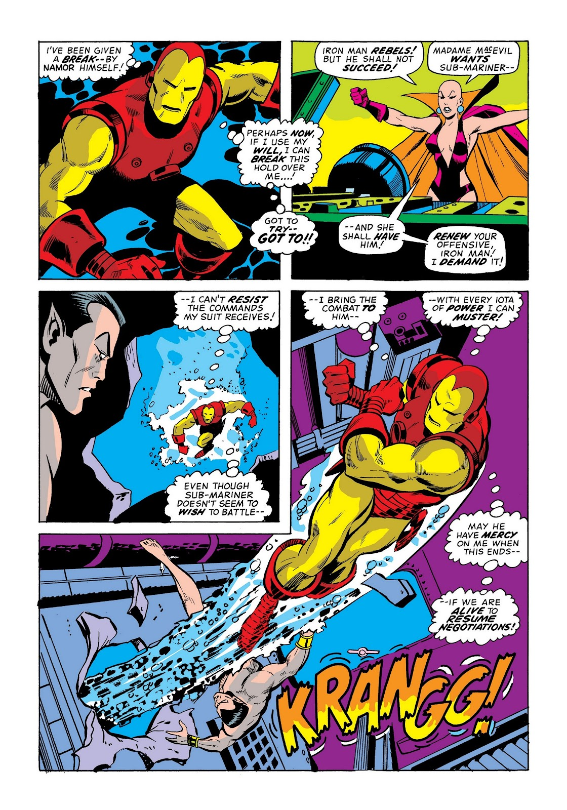 Read online Marvel Masterworks: The Invincible Iron Man comic -  Issue # TPB 9 (Part 1) - 21