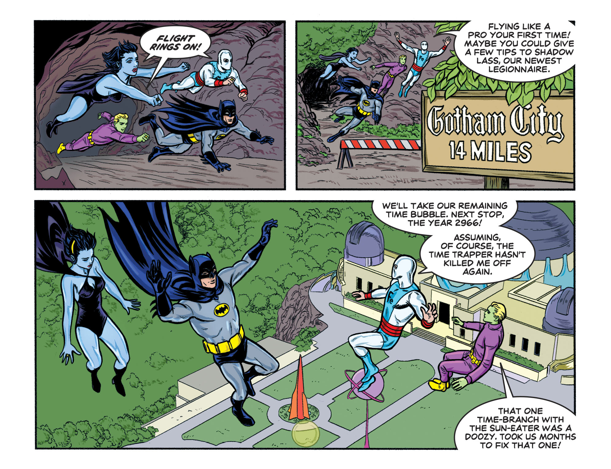 Read online Batman '66 Meets the Legion of Super-Heroes comic -  Issue #1 - 11