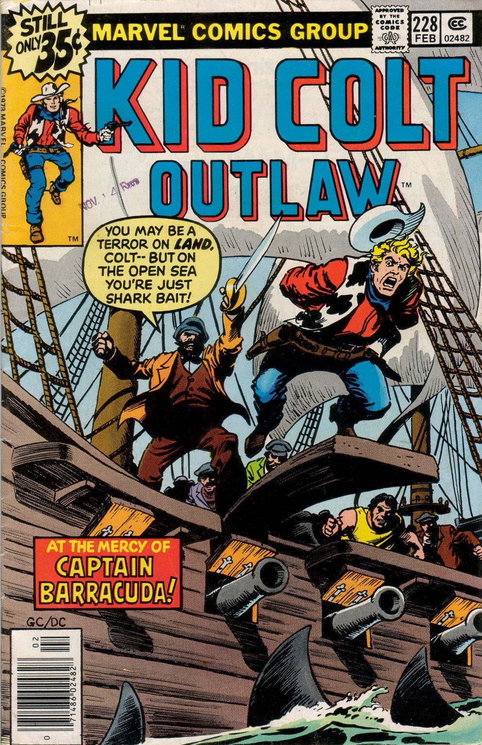 Kid Colt Outlaw issue 228 - Page 1