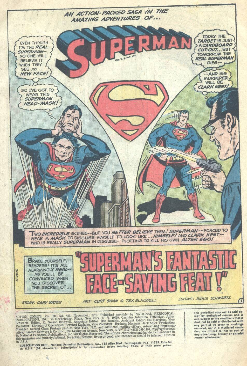 Read online Action Comics (1938) comic -  Issue #453 - 2