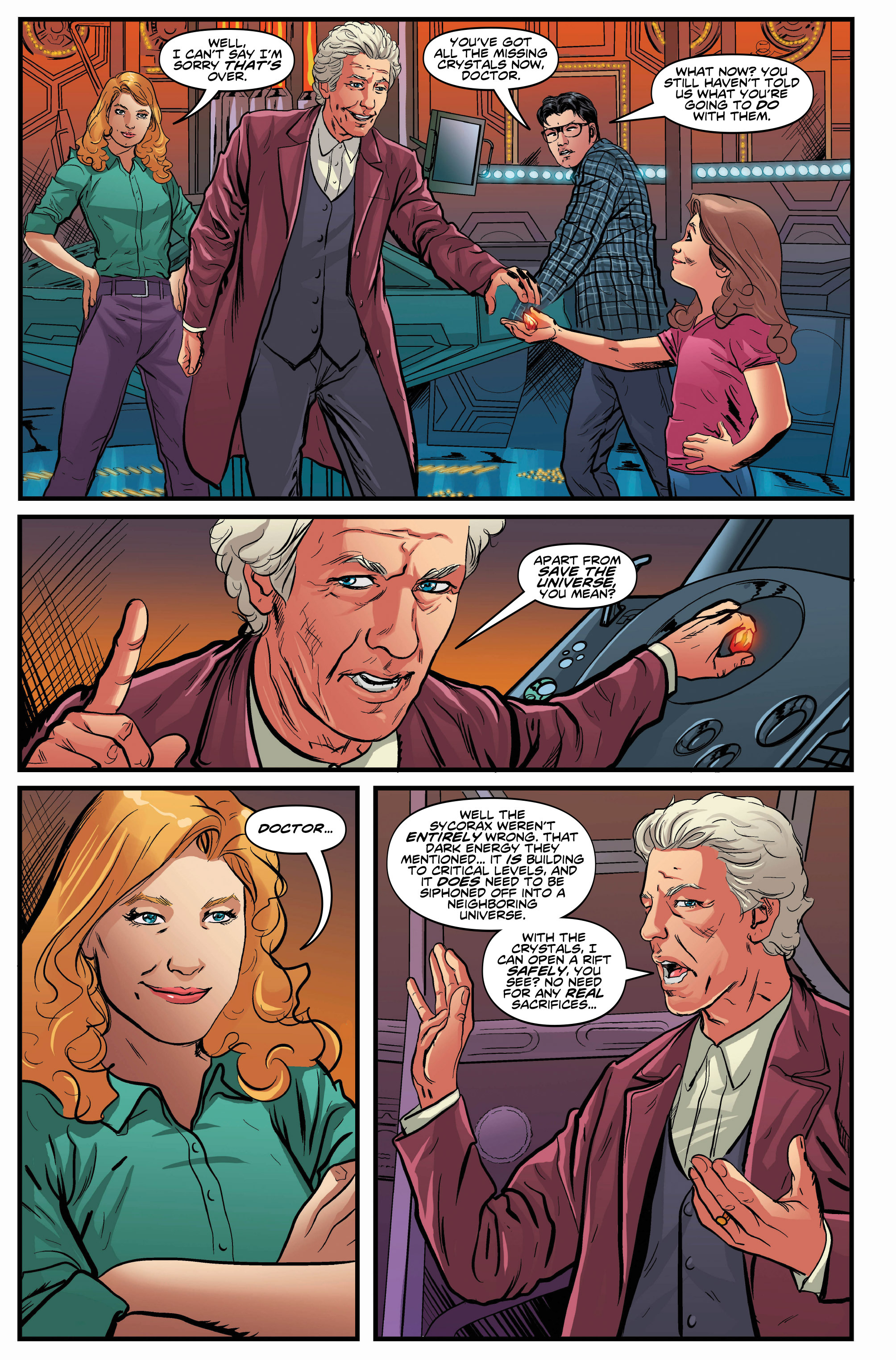 Read online Doctor Who: Ghost Stories comic -  Issue #7 - 12