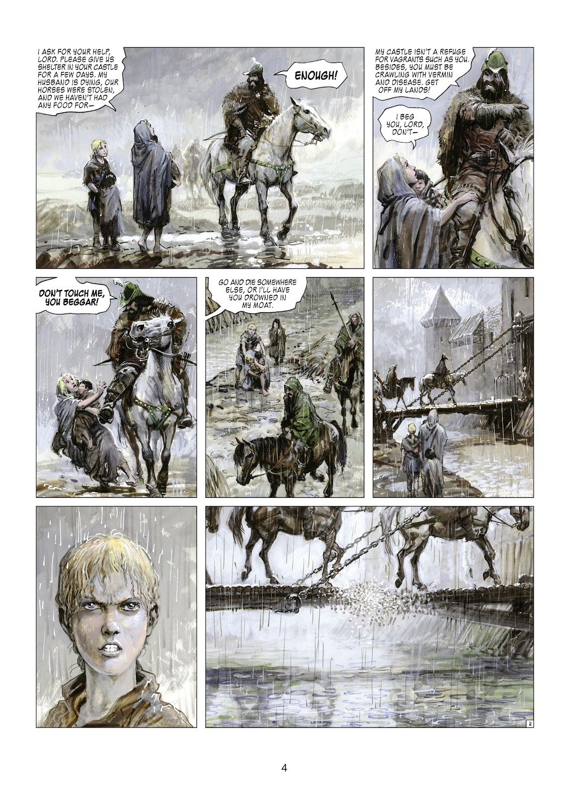 Read online Thorgal comic -  Issue #21 - 6