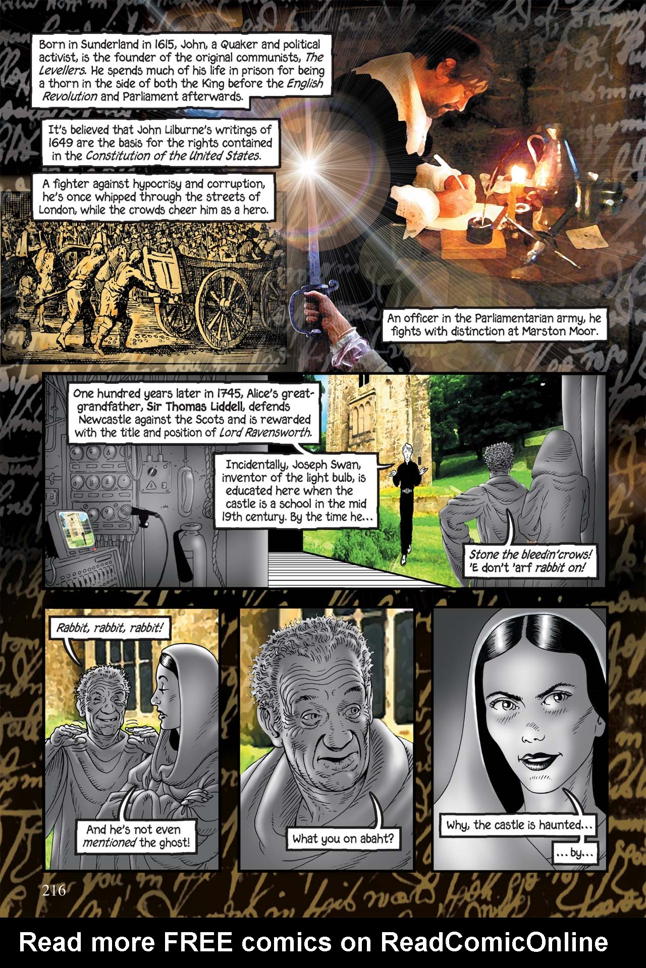 Read online Alice in Sunderland comic -  Issue # Full - 220