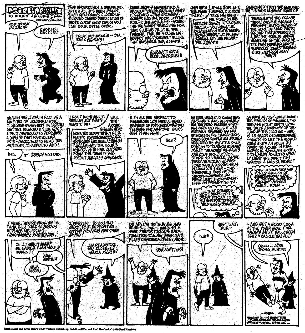 Read online The Nearly Complete Essential Hembeck Archives Omnibus comic -  Issue # TPB (Part 8) - 15