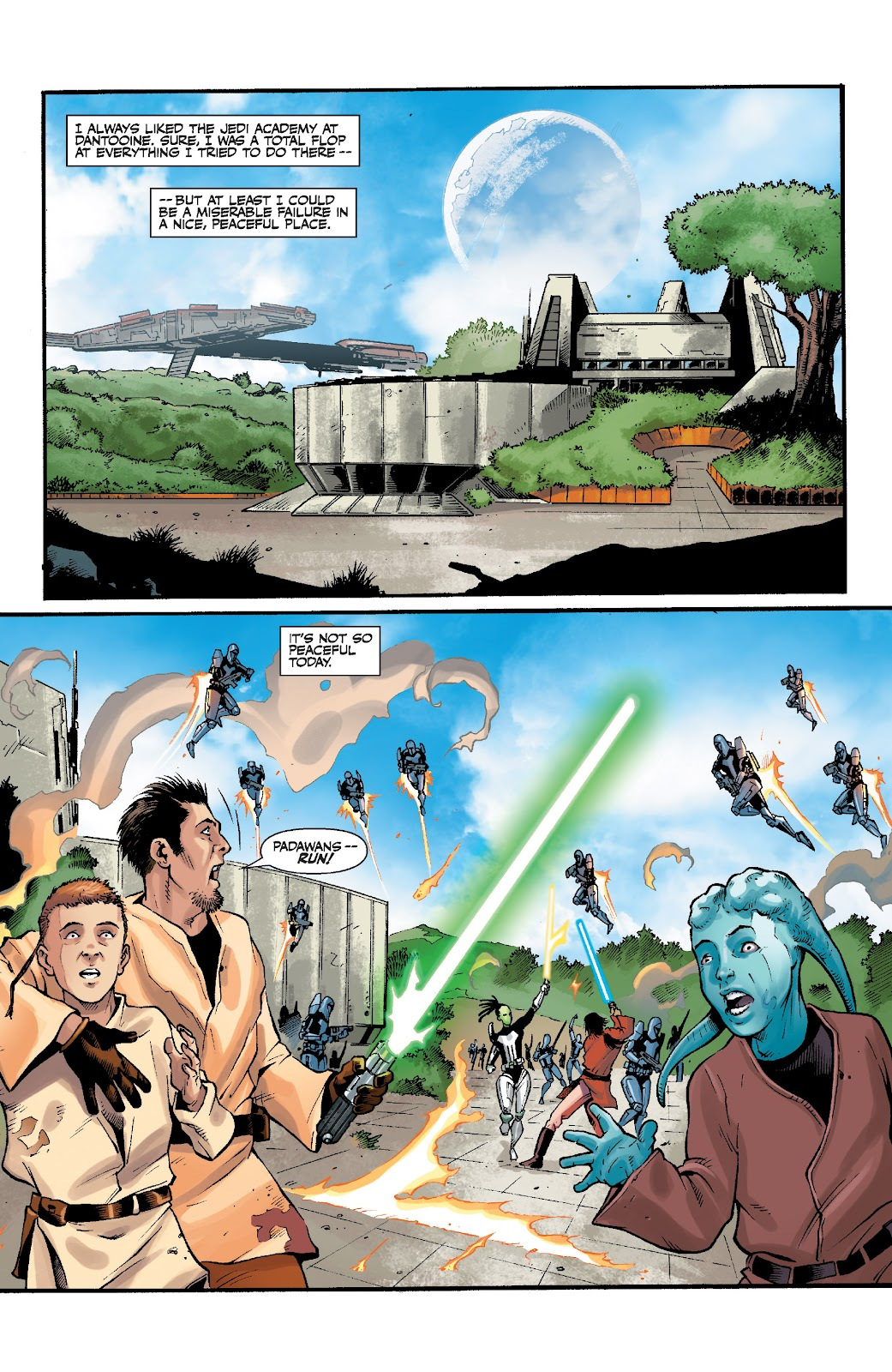 Read online Star Wars Legends: The Old Republic - Epic Collection comic -  Issue # TPB 3 (Part 4) - 96