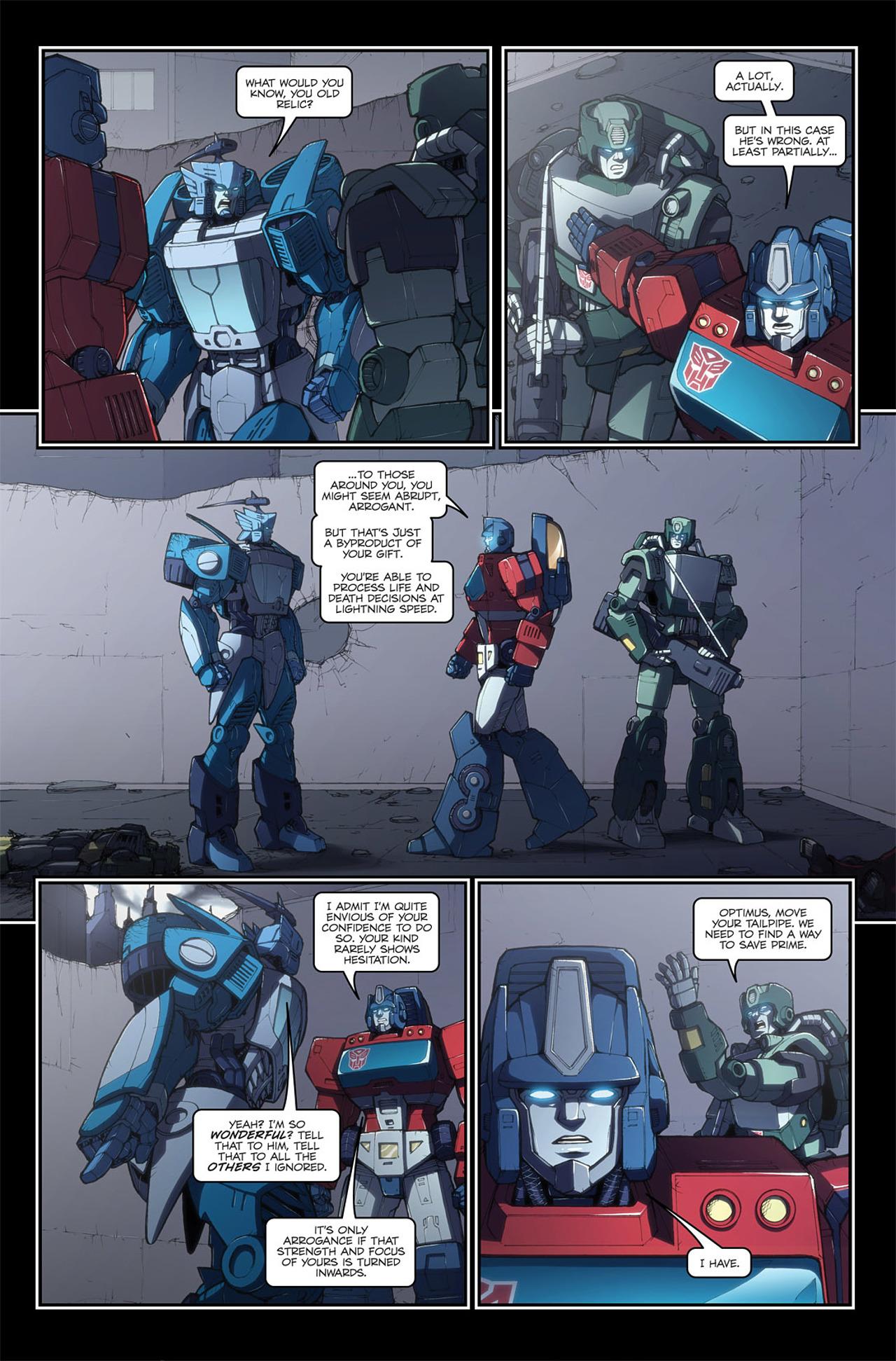 Read online Transformers Spotlight: Blurr comic -  Issue # Full - 21