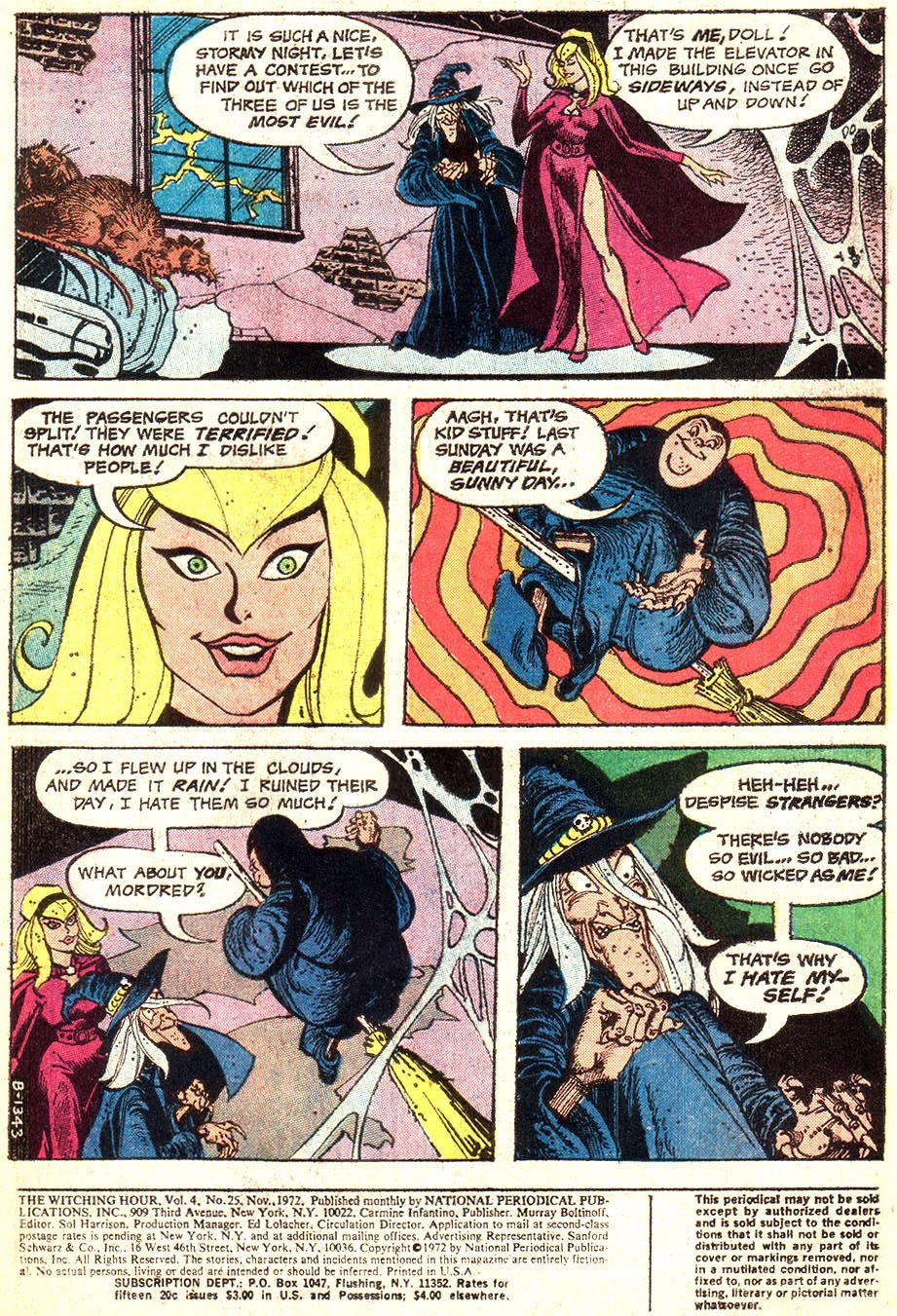 The Witching Hour (1969) issue 25 - Page 3