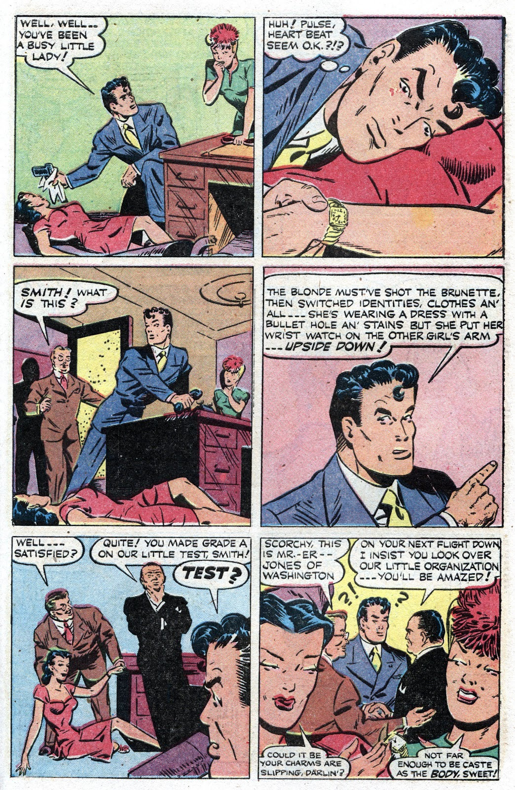 Read online Famous Funnies comic -  Issue #157 - 39