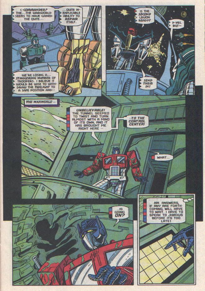Read online Transformers: Generation 2 comic -  Issue #11 - 16