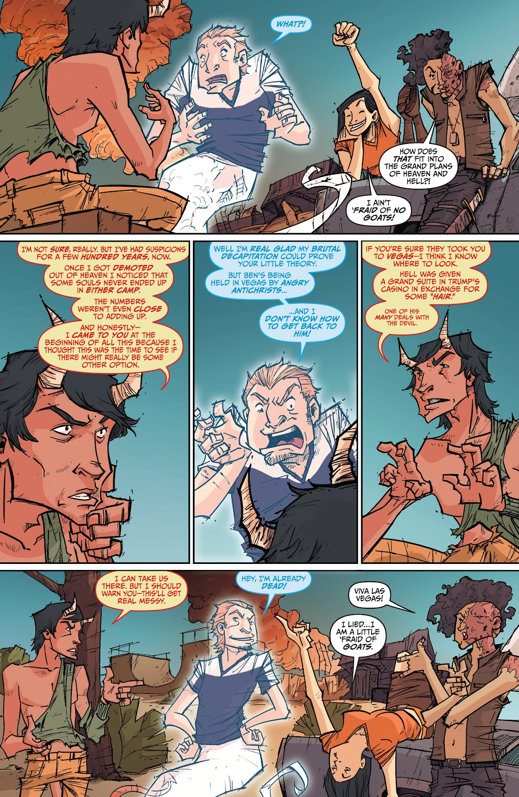 Read online The End Times of Bram and Ben comic -  Issue #4 - 12